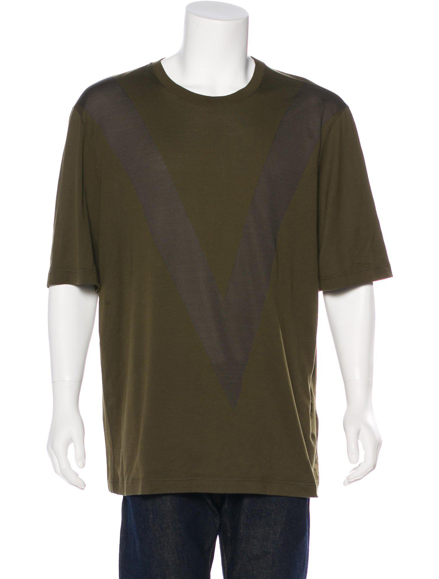 38aae2f71f69 Lyst - Louis Vuitton Graphic T-shirt W  Tags in Green for Men