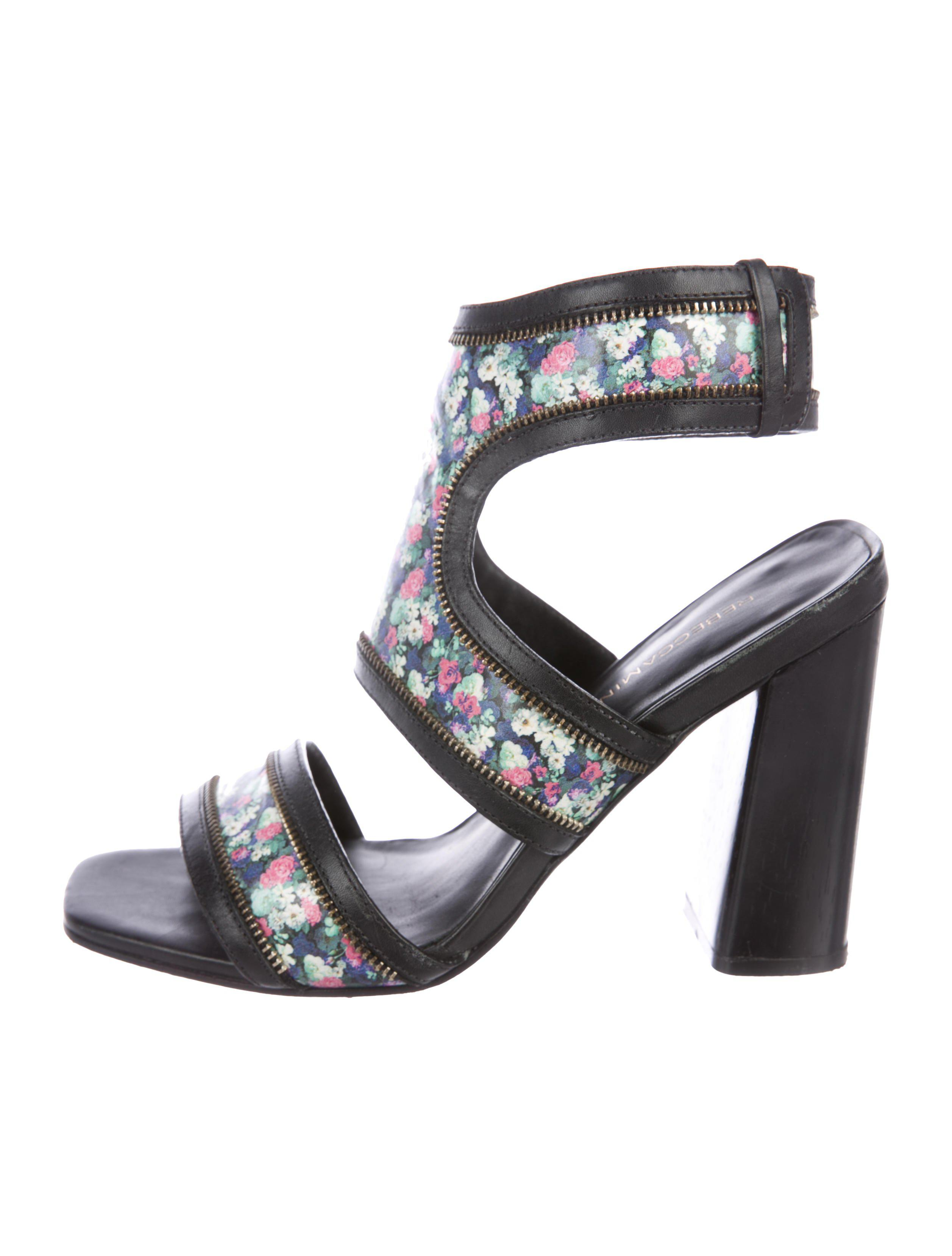 Rebecca Minkoff Printed Leather Sandals release dates authentic discount looking for where to buy uOzNqEzb