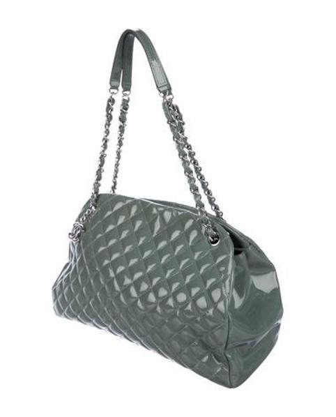 c08caaf7a4f2 Chanel - Metallic Just Mademoiselle Large Bowler Bag Silver - Lyst. View  fullscreen