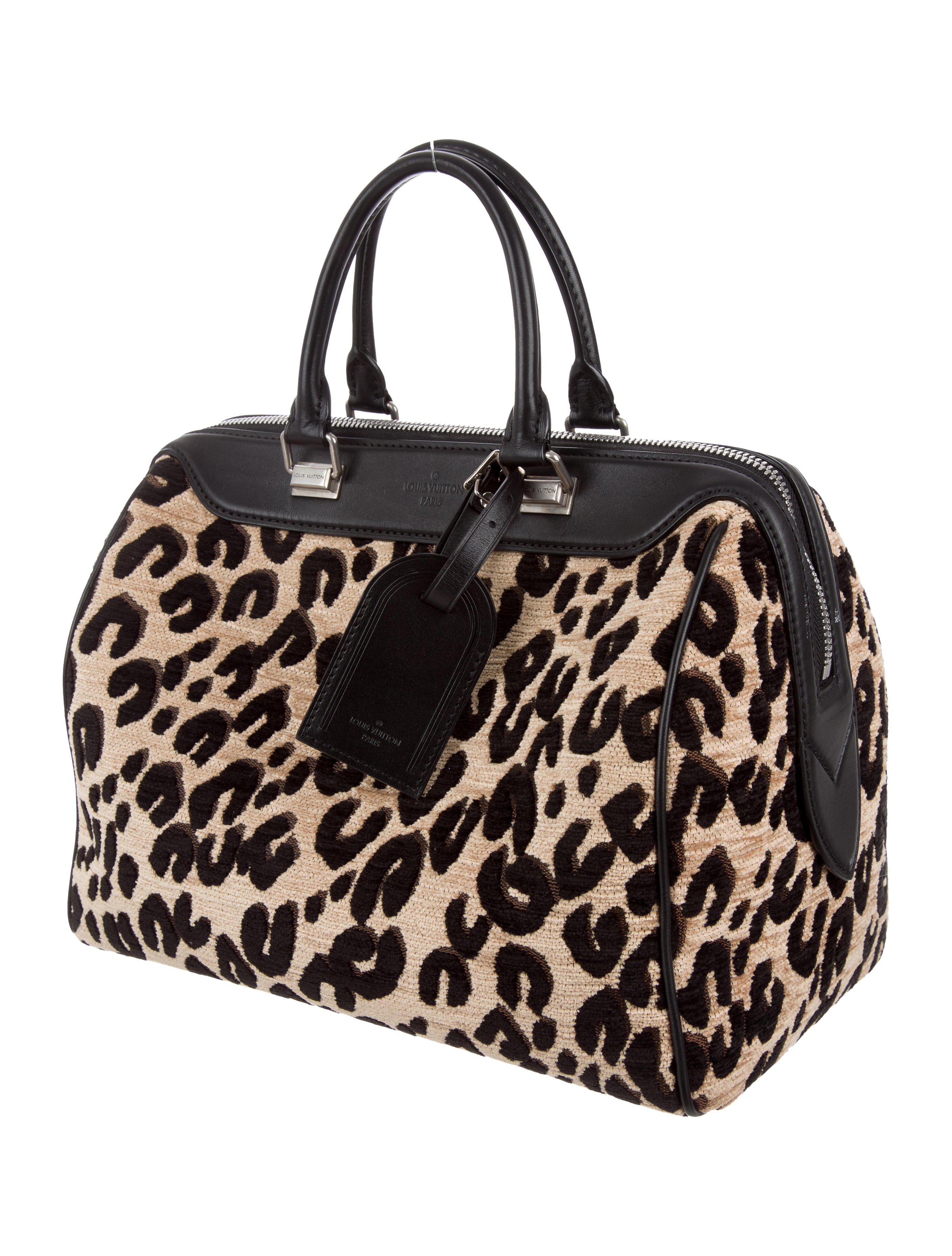 dfacb0f4aad4 Lyst - Louis Vuitton Leopard Speedy 30 in Metallic
