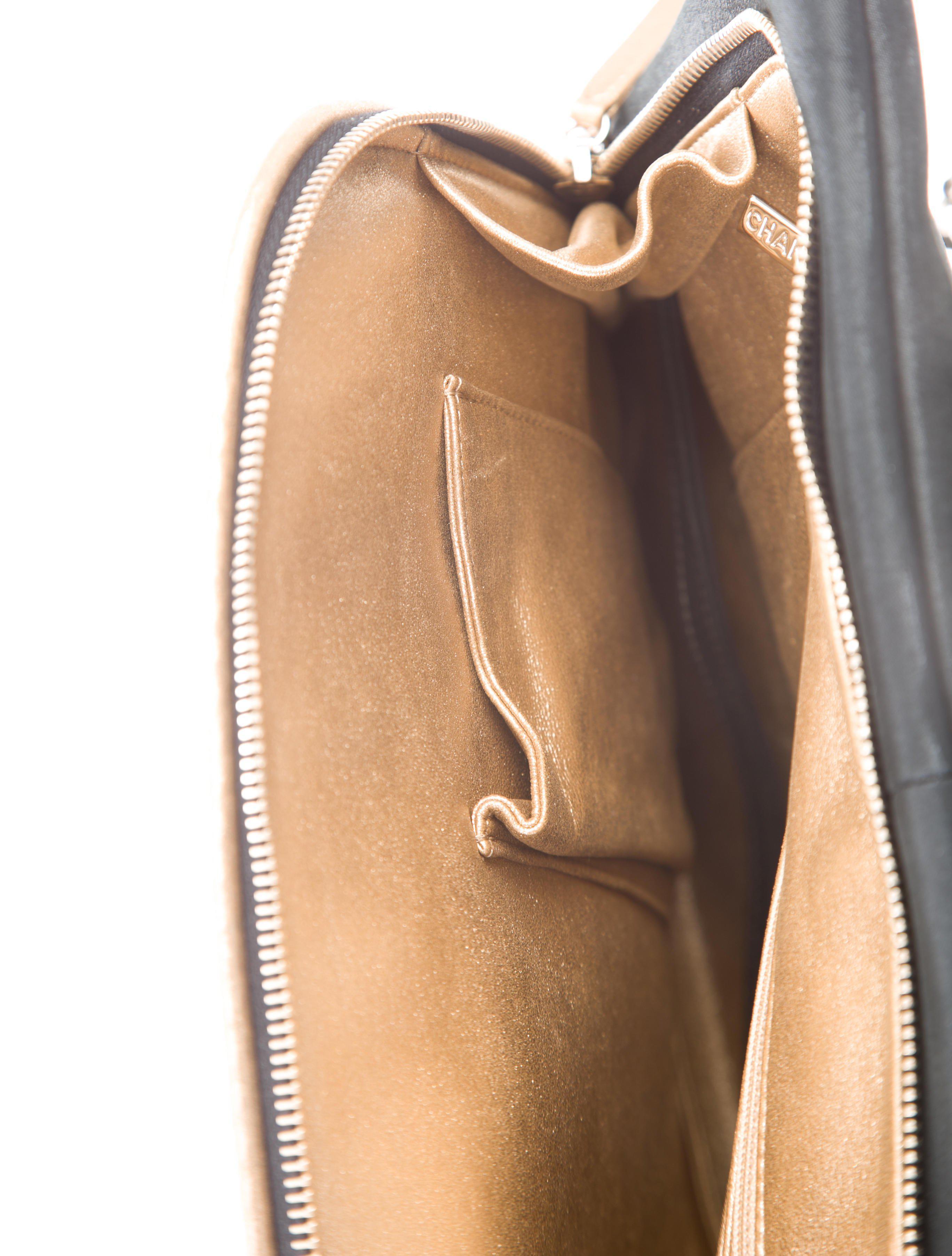 a459f1d3df9 Lyst - Chanel Paris-salzburg Cc Hunting Backpack W  Tags Black in ...