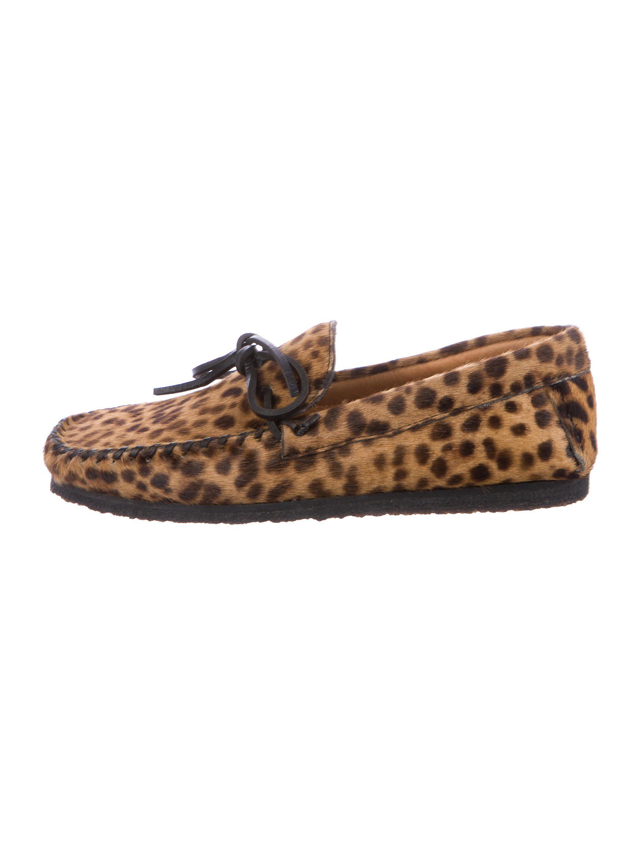 Étoile Isabel Marant Ponyhair Round-Toe Loafers amazing price for sale 2wdNWbP5W