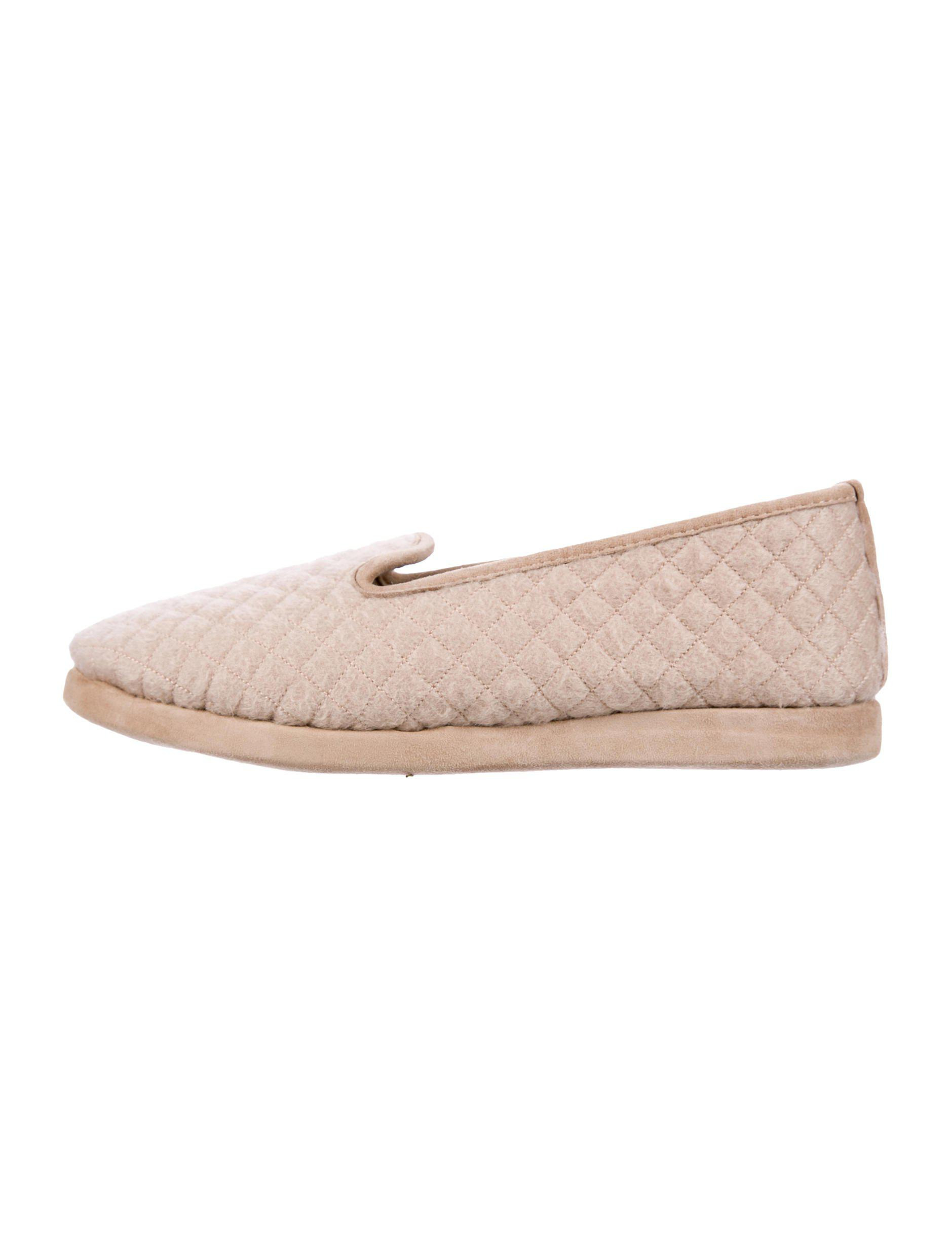 really cheap online free shipping 2015 new Loro Piana Quilted Cashmere Slippers w/ Tags explore cheap online nveN0Zm