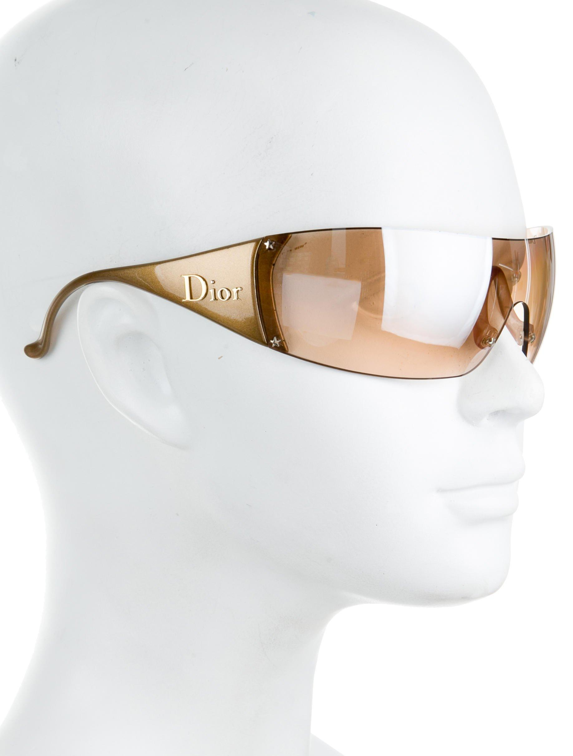 365e16dbdb2 Lyst - Dior Ski 5 Sunglasses in Metallic