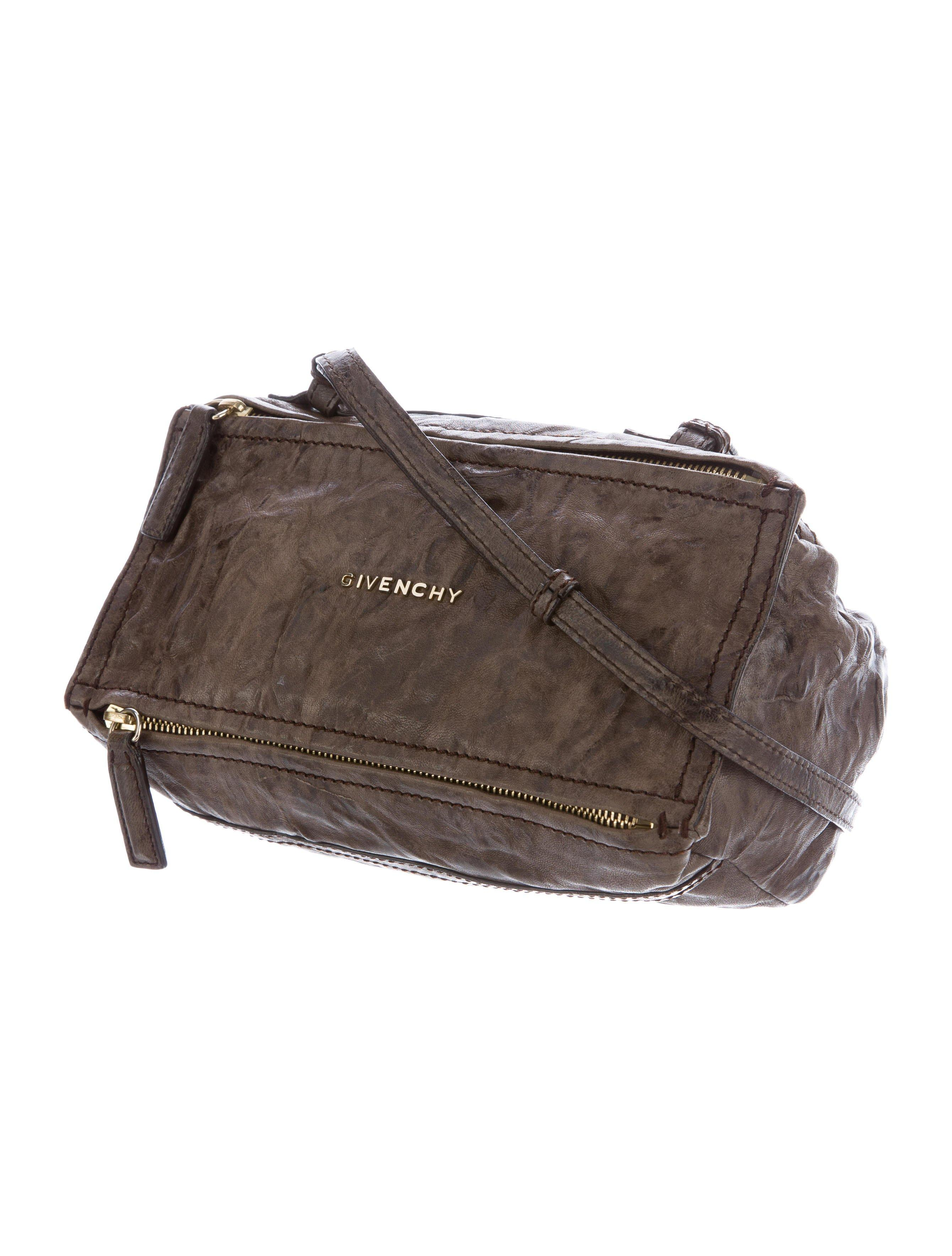 Lyst - Givenchy Mini Pepe Pandora Bag Brown in Metallic d4ceda812b