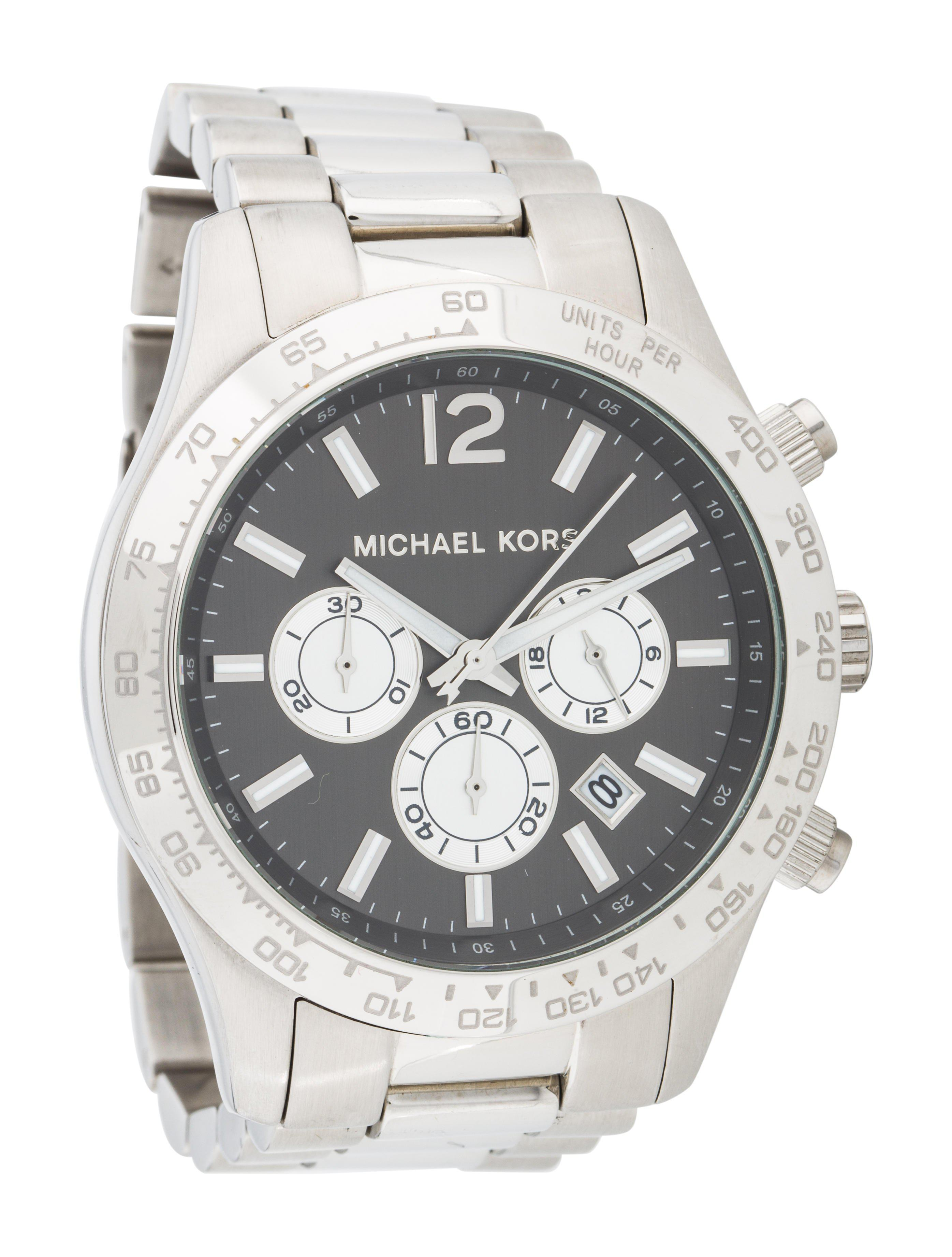 f89af6ae5cd0 Michael Kors - Metallic Layton Watch for Men - Lyst. View fullscreen