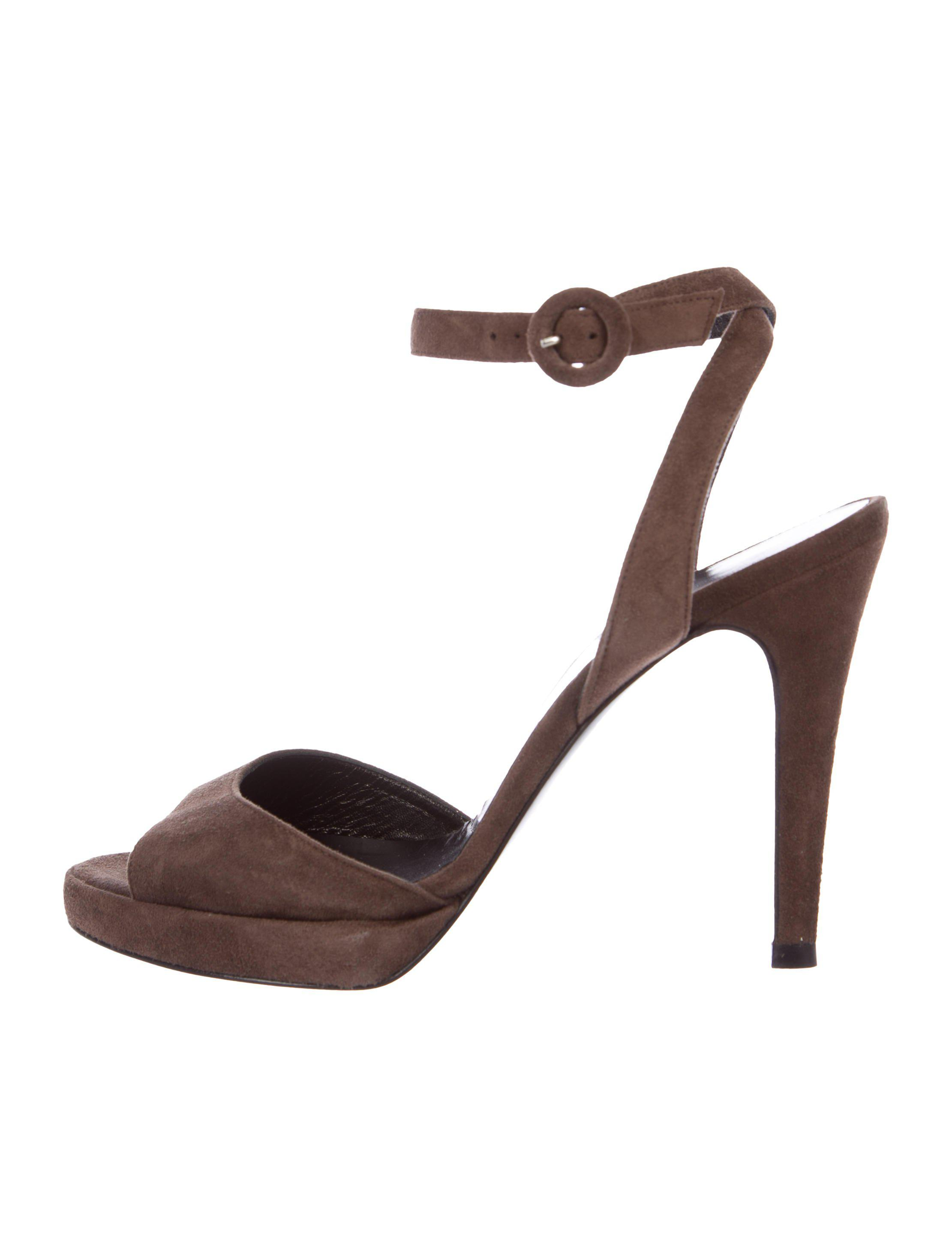 best prices online Pierre Hardy Multistrap Suede Sandals fake for sale IGEkN11x2H