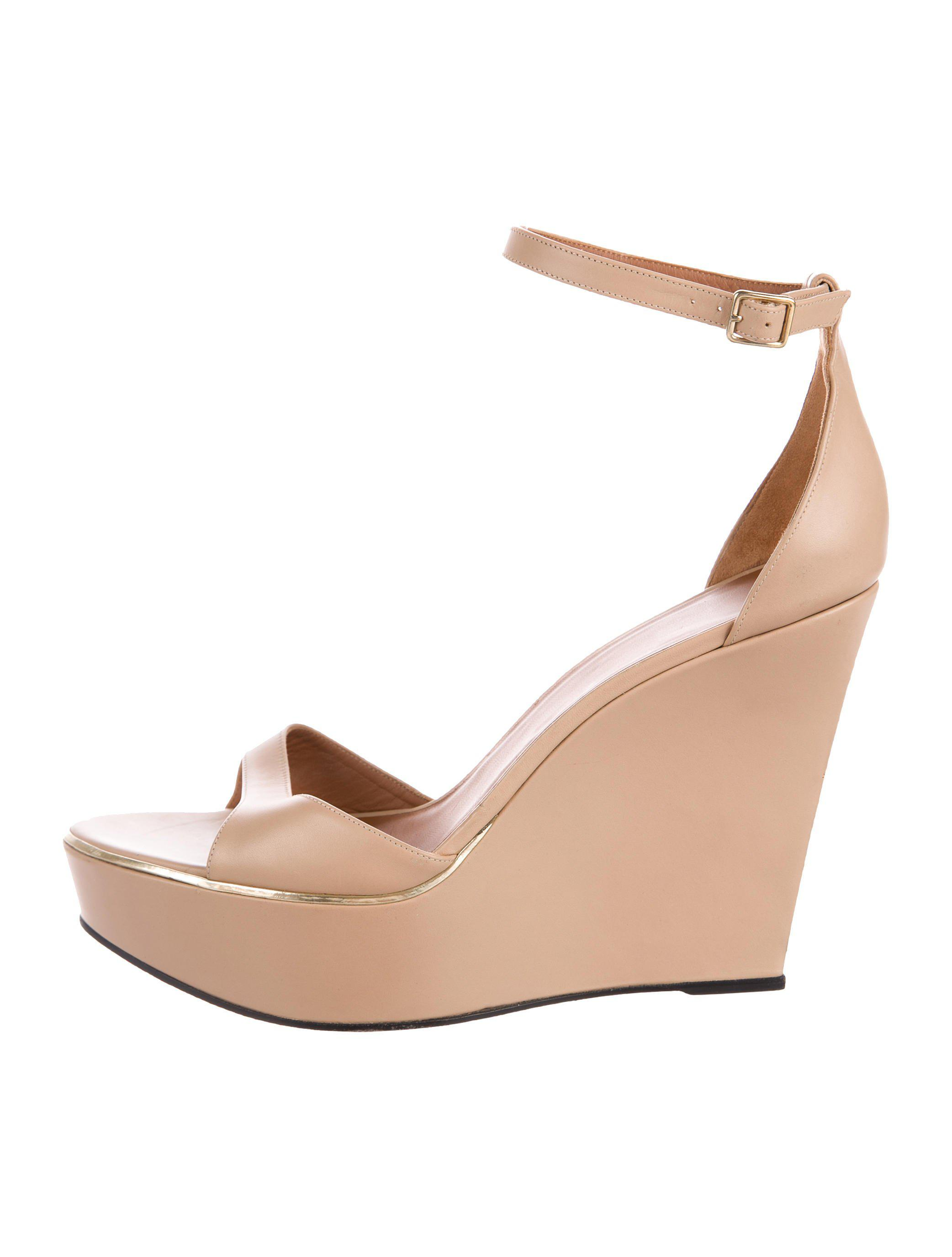 Givenchy Leather Platform Wedges 2014 unisex cheap high quality real enjoy sale online discount low price KS7uoBqO