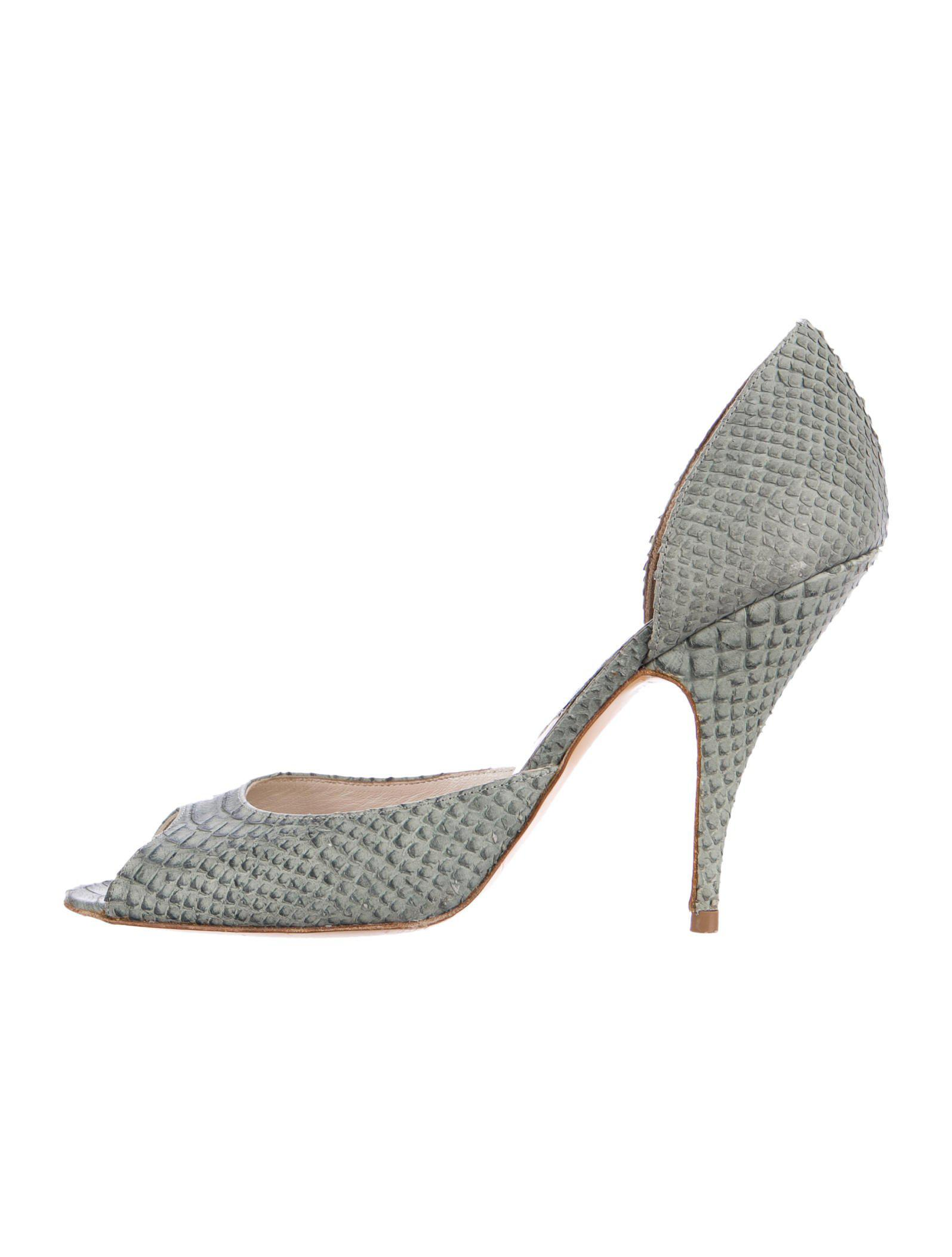 prices for sale free shipping hot sale Christian Dior Embossed d'Orsay Pumps clearance shopping online pay with visa sale online buy cheap fashion Style vJulQ34