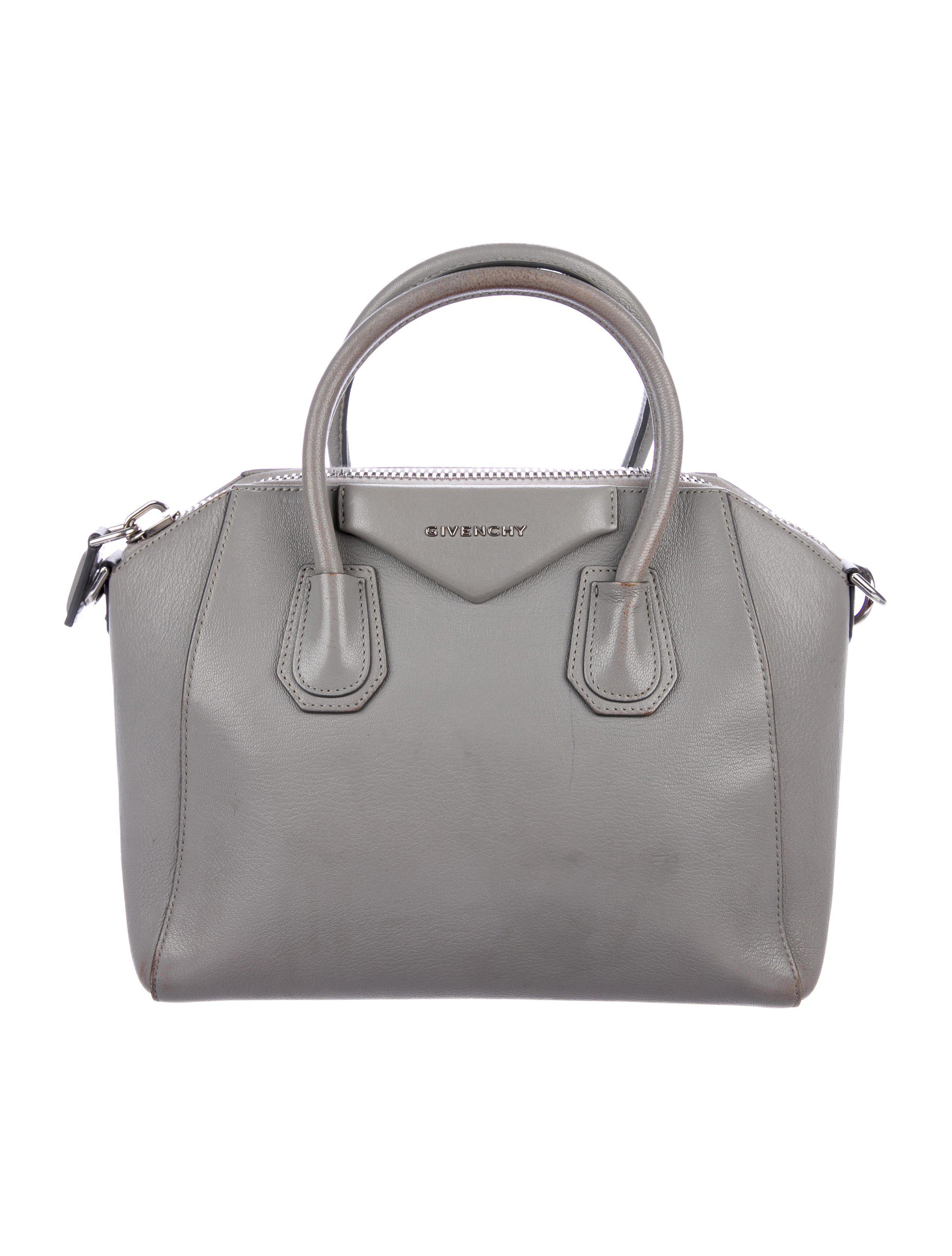 Givenchy - Metallic Small Antigona Bag Grey - Lyst. View fullscreen 7081dc899b056