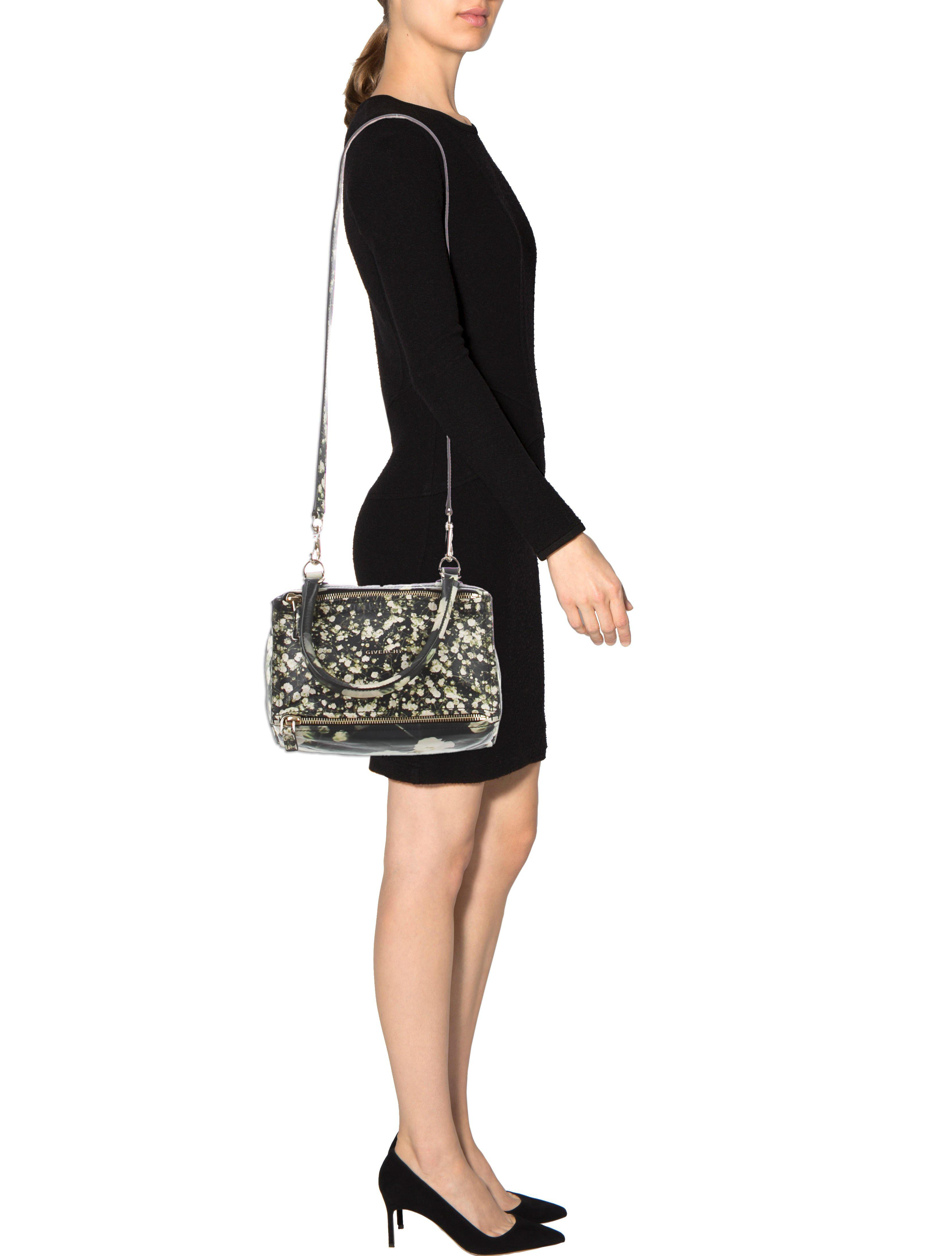 646baf81d5 Givenchy - Metallic Small Pandora Bag Black - Lyst. View fullscreen