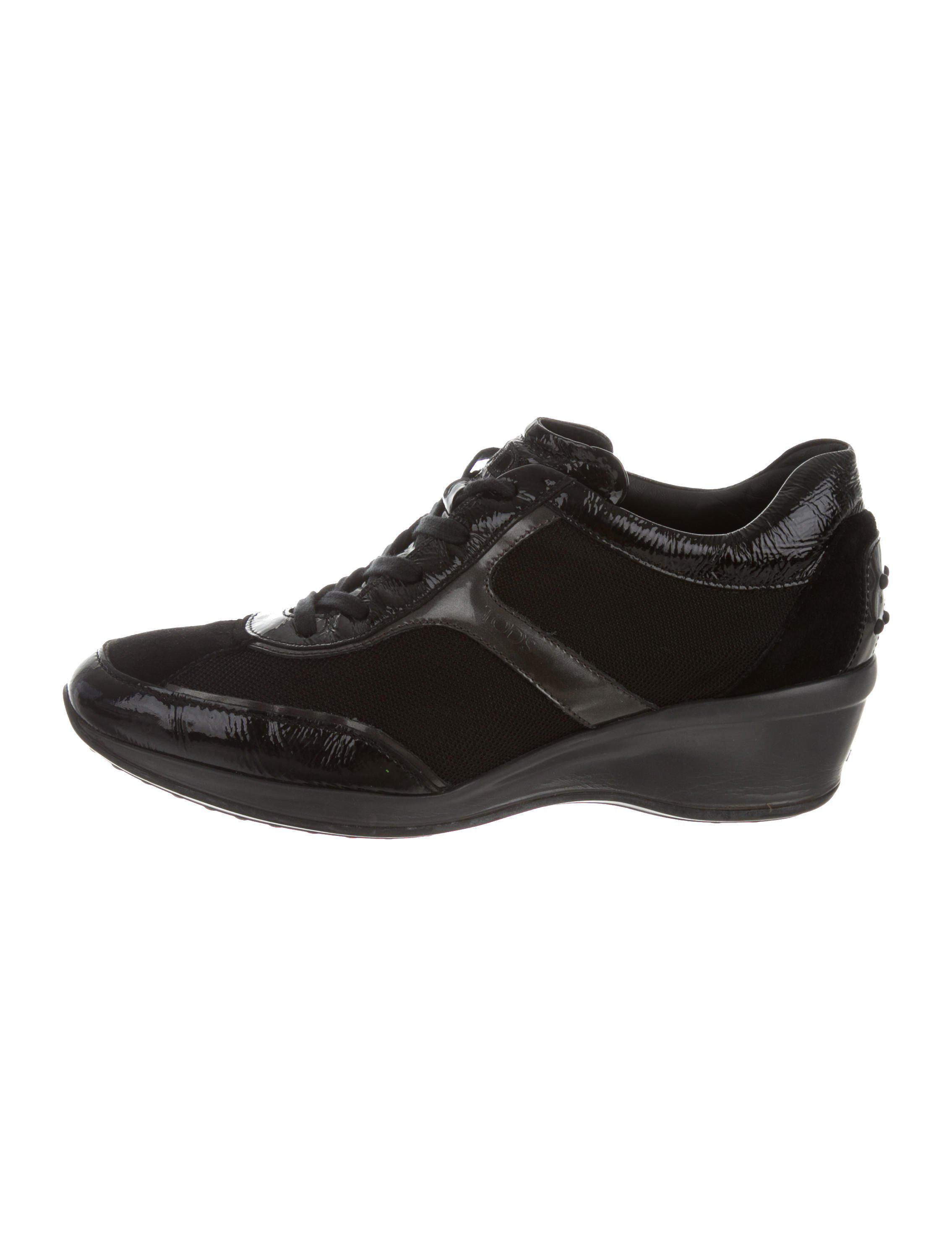 Top Lyst Round In Sneakers Tod's Toe Black Low wcqxIRazp