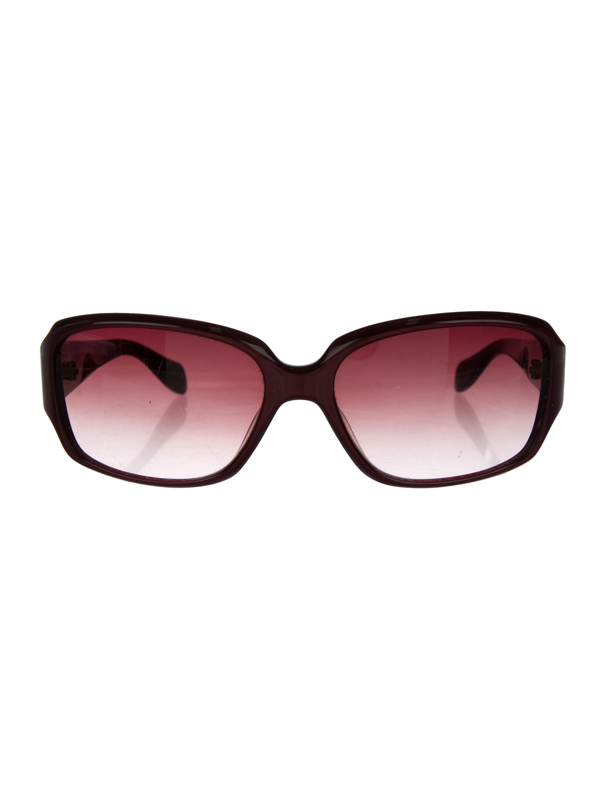 a9d2fd28fdb2 Lyst - Oliver Peoples Hayworth Gradient Sunglasses Red in Metallic