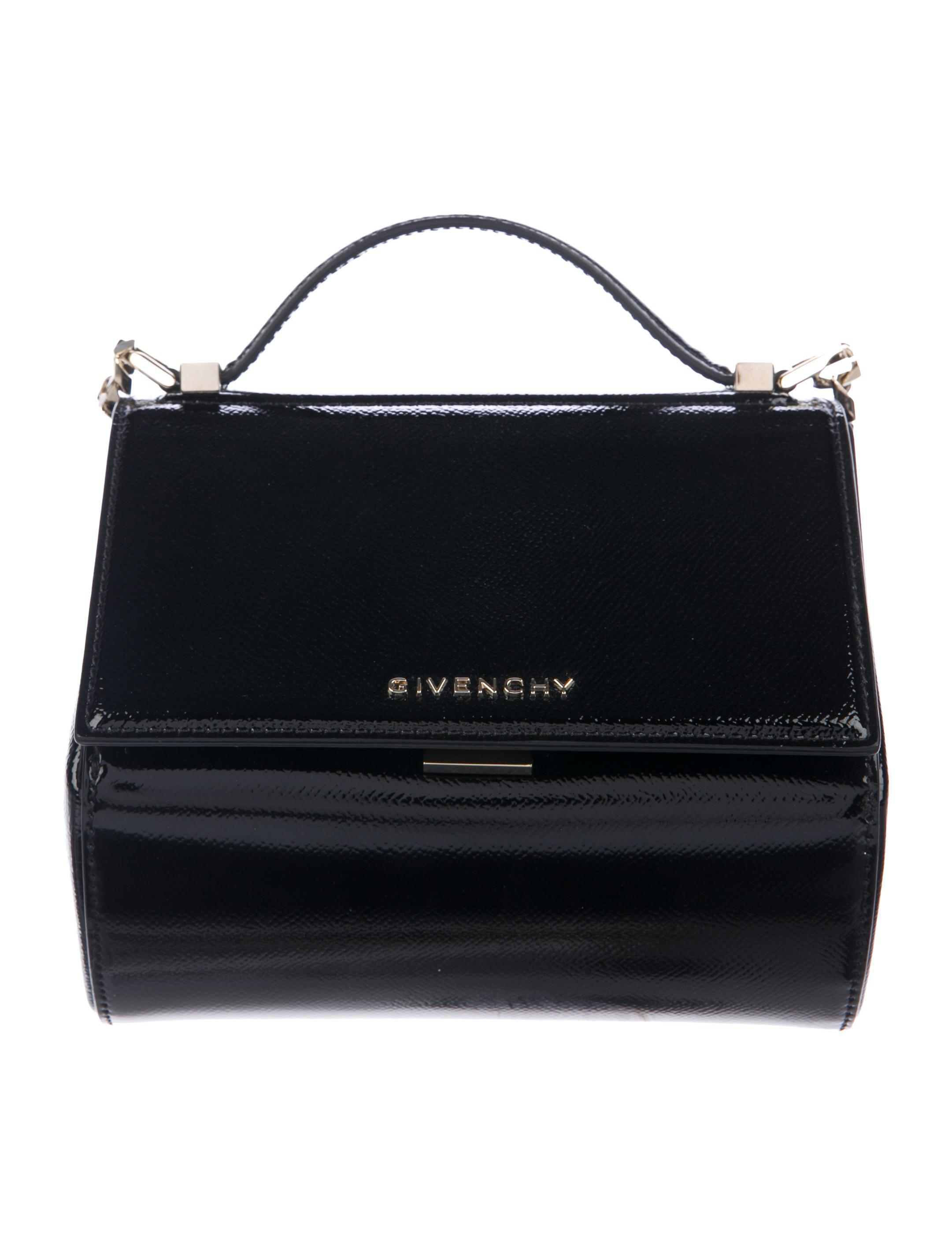 fe03dc2b26 Lyst - Givenchy Mini Pandora Box Bag Black in Metallic