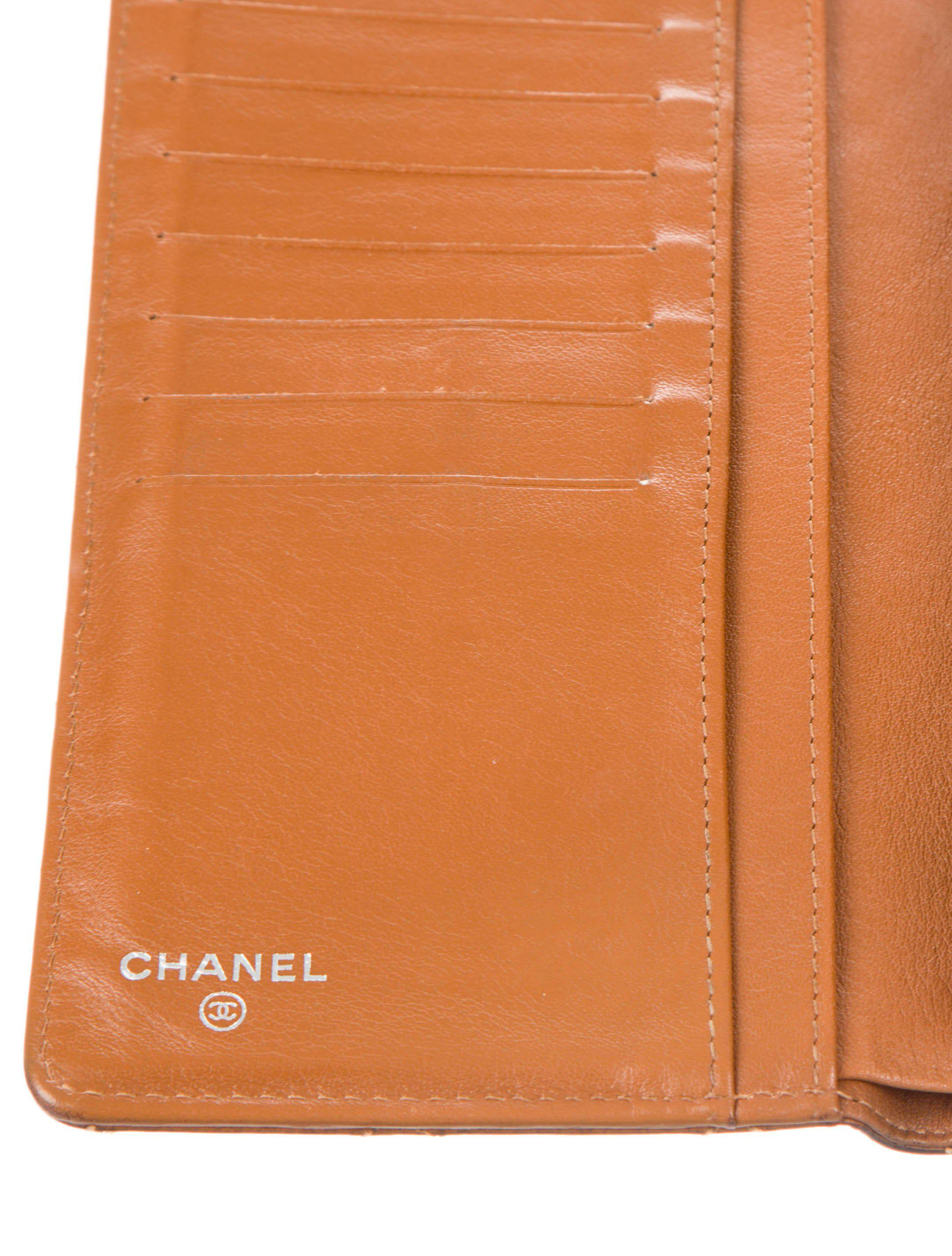 0fb0142c78ef Chanel - Metallic Caviar Quilted Yen Wallet Brown - Lyst. View Fullscreen