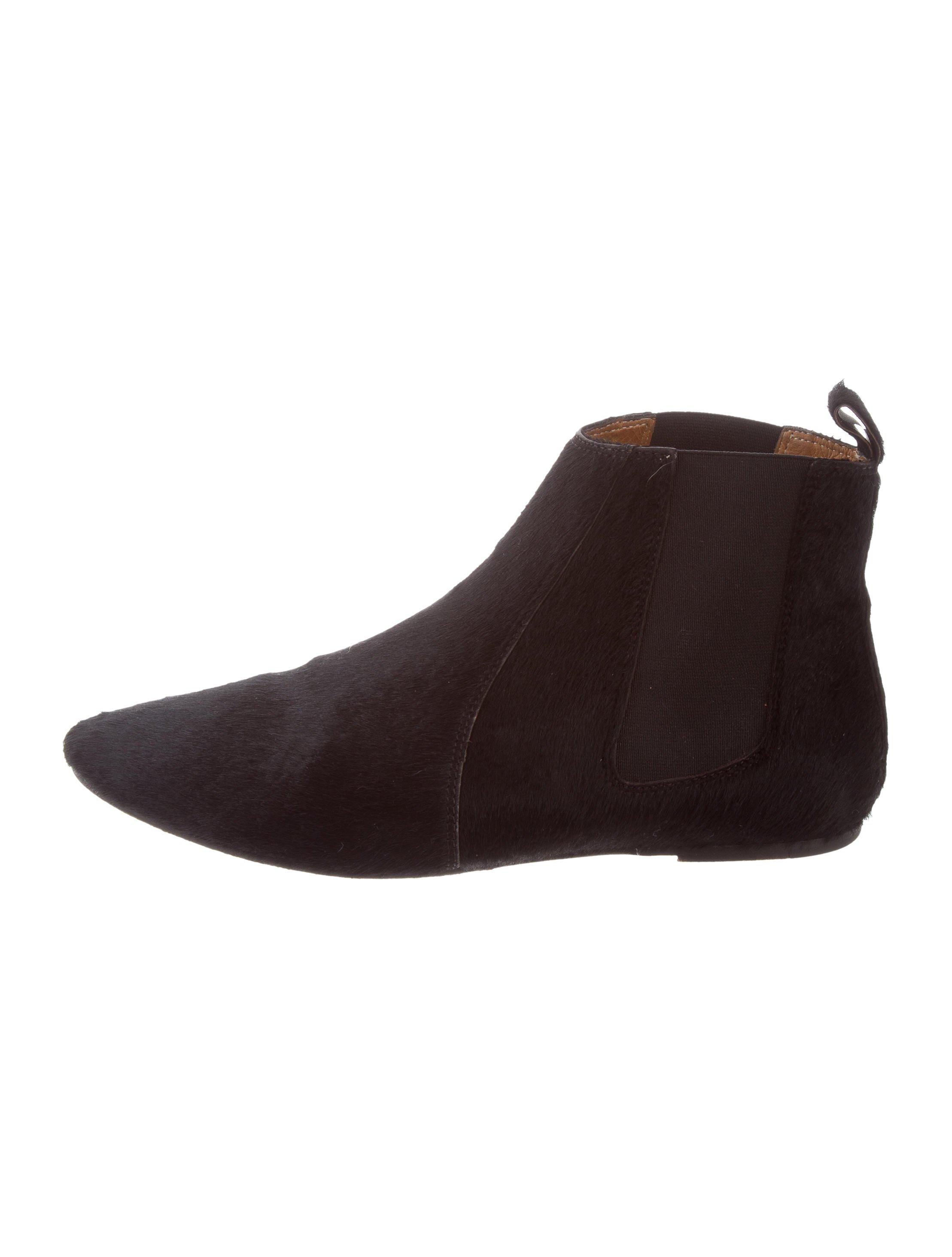 Isabel Marant Round-Toe Ponyhair Booties clearance browse high quality buy online free shipping find great latest collections sale online jB2OZ