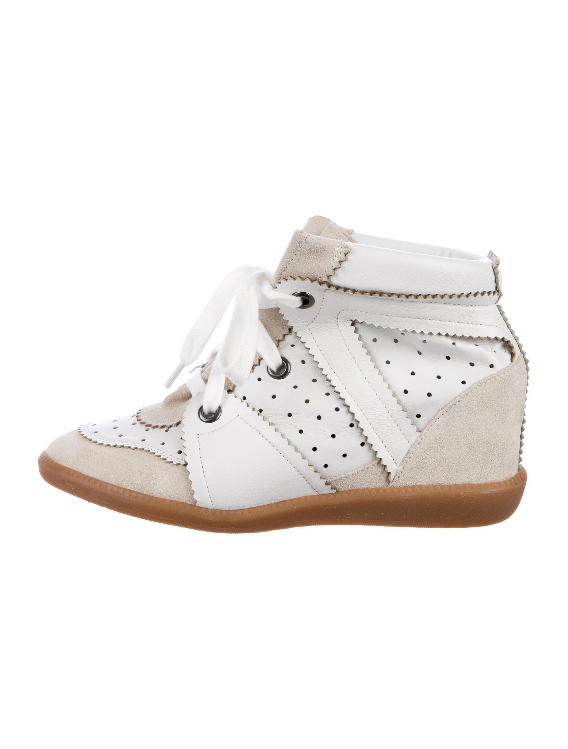 31fede43726 Lyst - Isabel Marant Betty Wedge Sneakers Neutrals in Natural