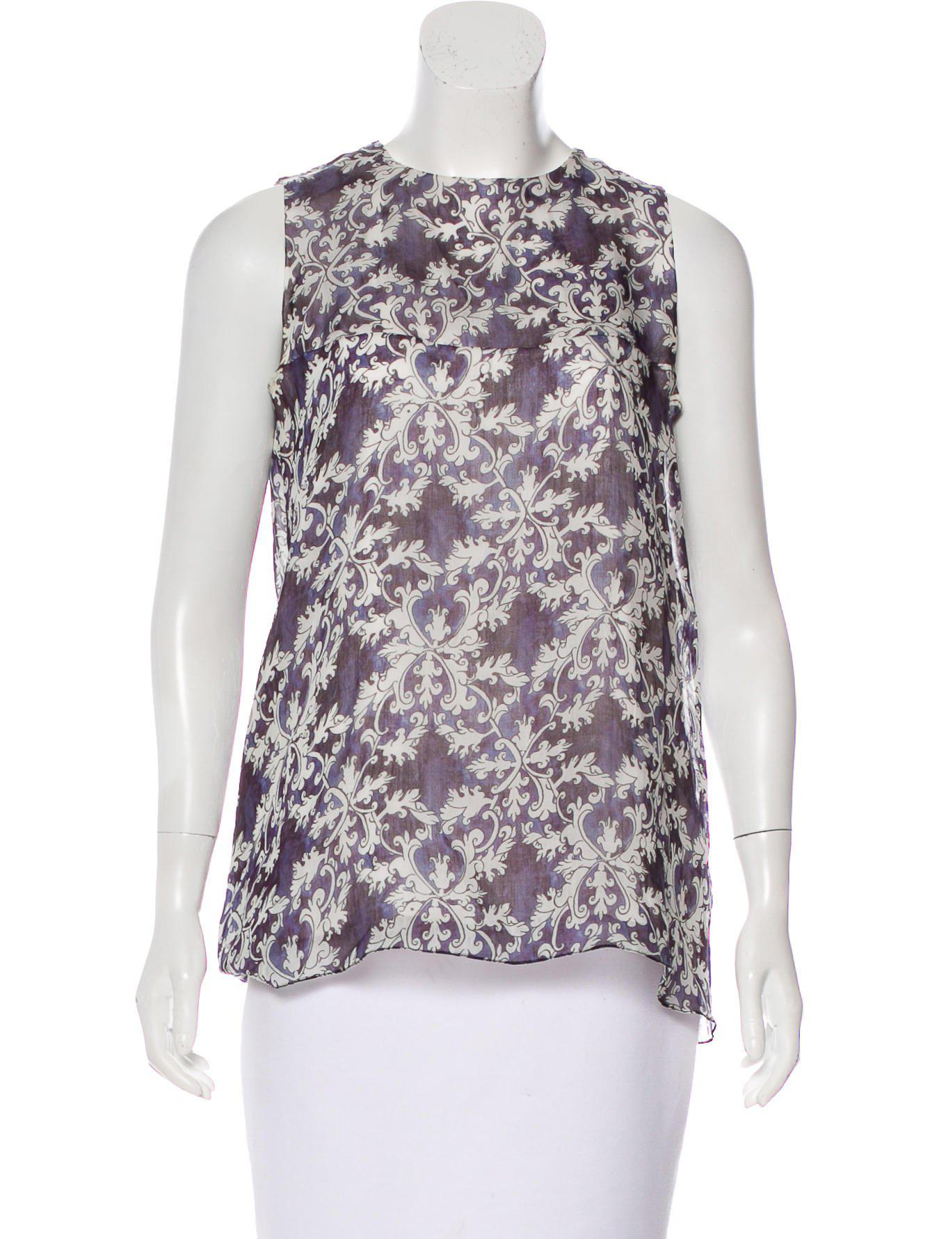 Isolda Printed Sleeveless Top Wear Resistance Outlet Latest Collections UifA28cq