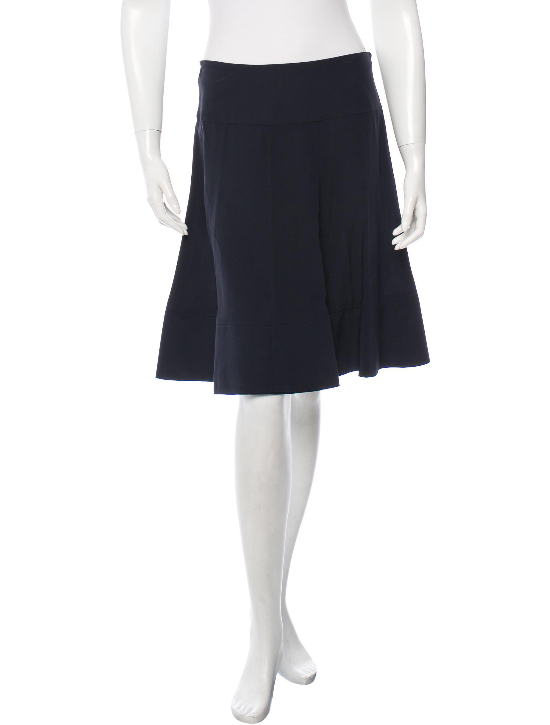 Buy Cheap Footlocker Finishline Dorothee Schumacher A-Line Knee-Length Skirt w/ Tags Free Shipping Supply Cheapest Sale Fashion Style Outlet 100% Original QJ4ZK2