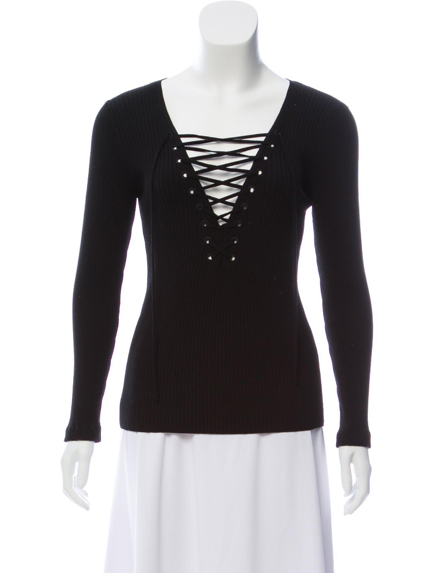 Buy Cheap Low Cost Discount Hot Sale A.L.C. Knit Long Sleeve Top mGxPm