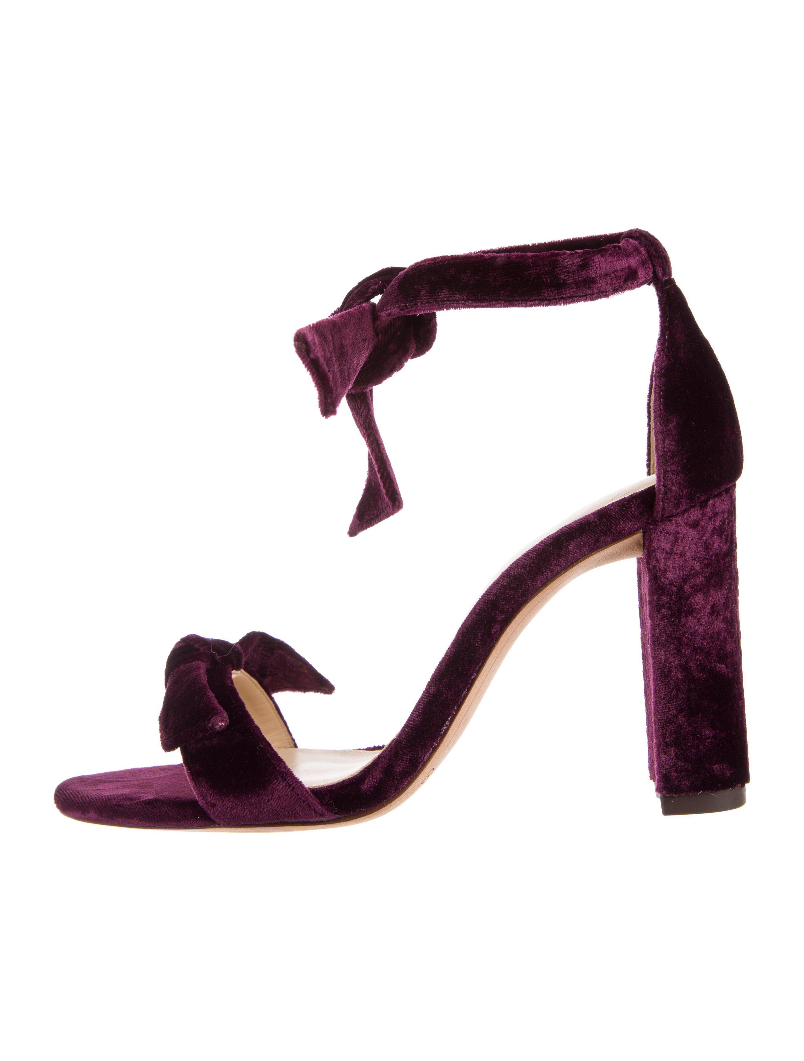 Alexandre Birman Clarita Velvet Sandals w/ Tags nicekicks cheap price buy cheap cheap with paypal for sale VIV526uC