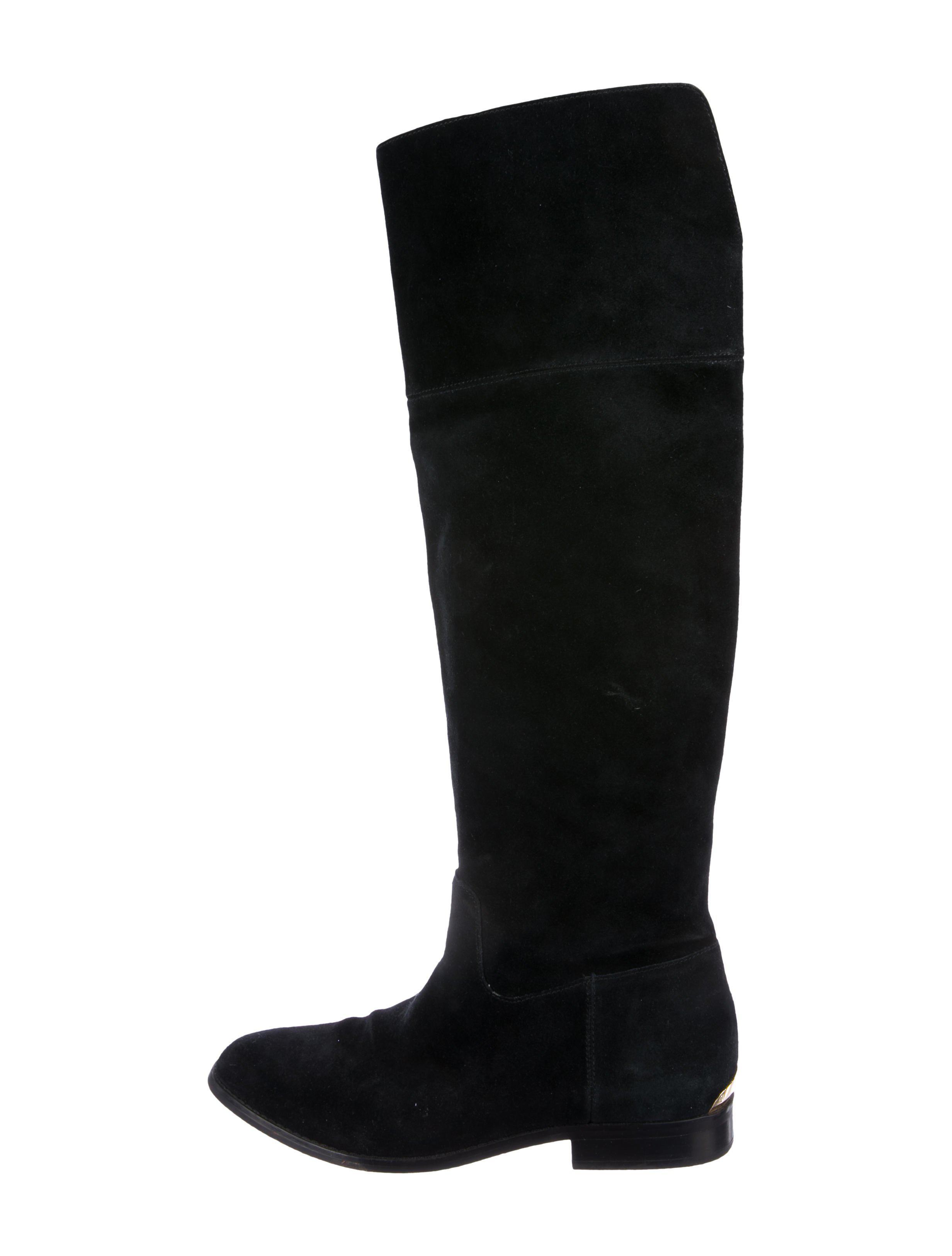 5c880d2e9290 MICHAEL Michael Kors. Women s Black Michael Kors Suede Over-the-knee Boots
