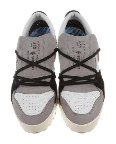 more photos c413d 42da0 Lyst - Alexander Wang 2017 Bball Lo Sneakers in White for Me