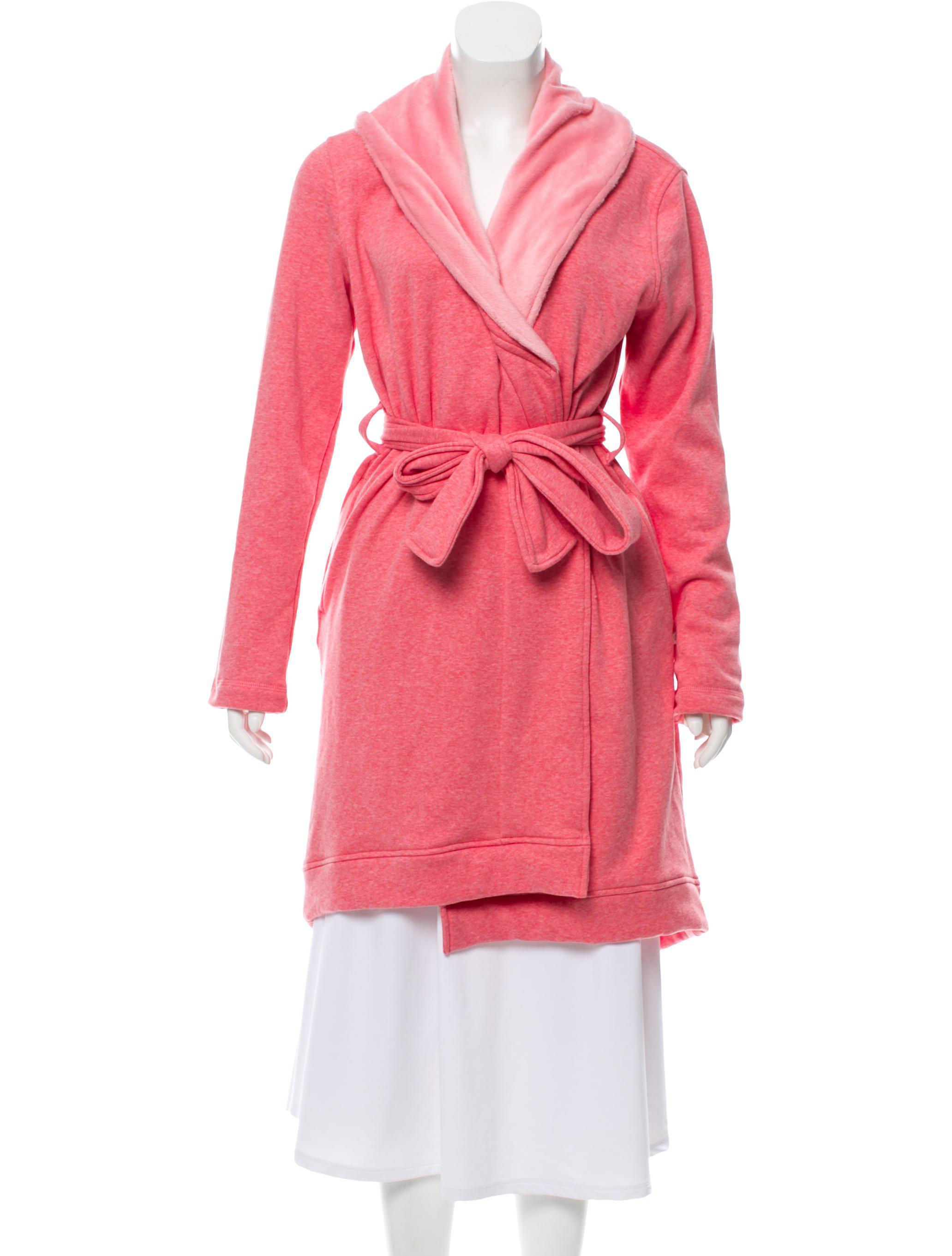 4136ee83e5e3 Lyst - Ugg Fleece-lined Lounge Robe W  Tags in Pink