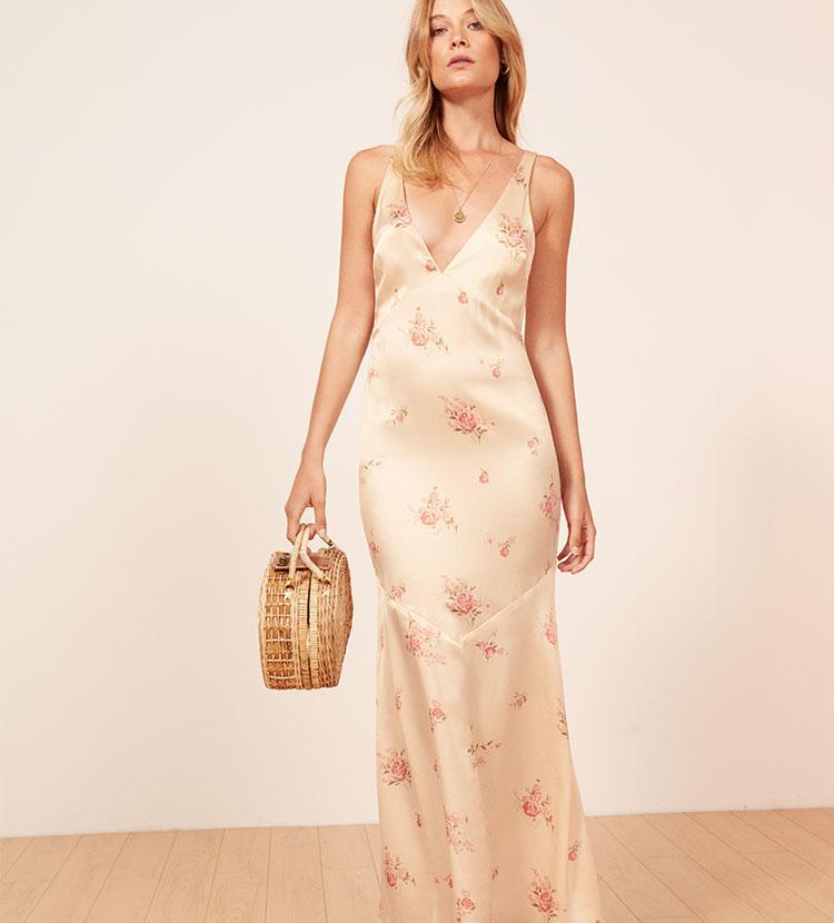 Lyst - Reformation Malibu Dress