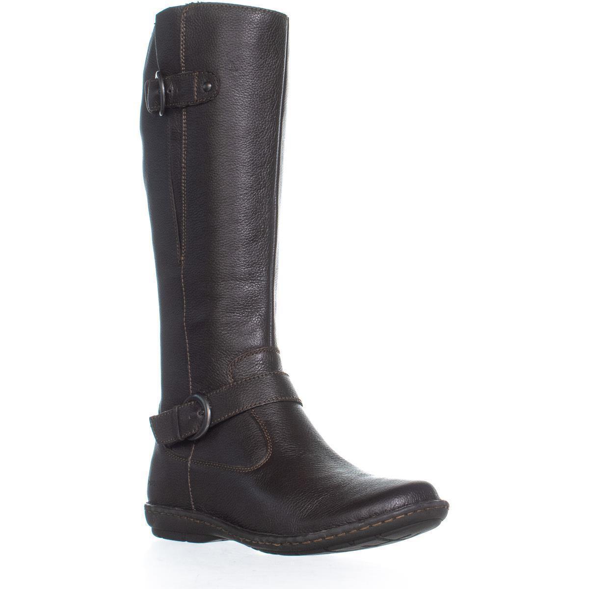 40e0d5f7293 Born Black B.o.c. Concept Faye Flat Comfort Boots