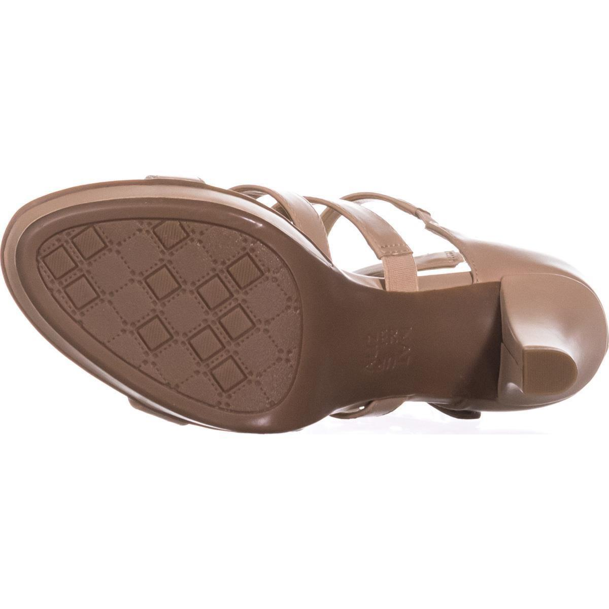 21a335a93823 Lyst - Naturalizer Dessie Strappy Platform Sandals