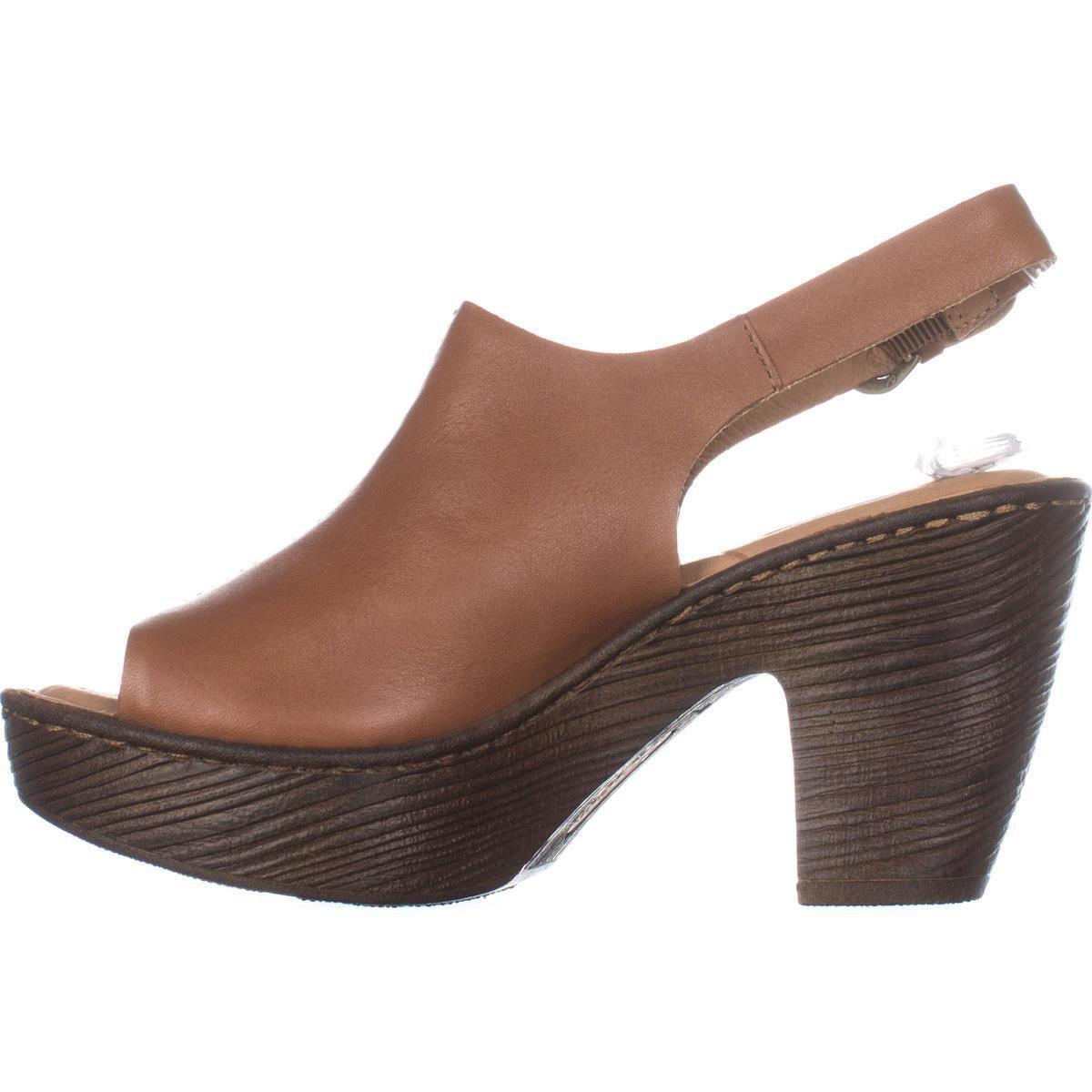 d5671dcc0be5 Lyst - Born Fatema Platform Sandals in Brown