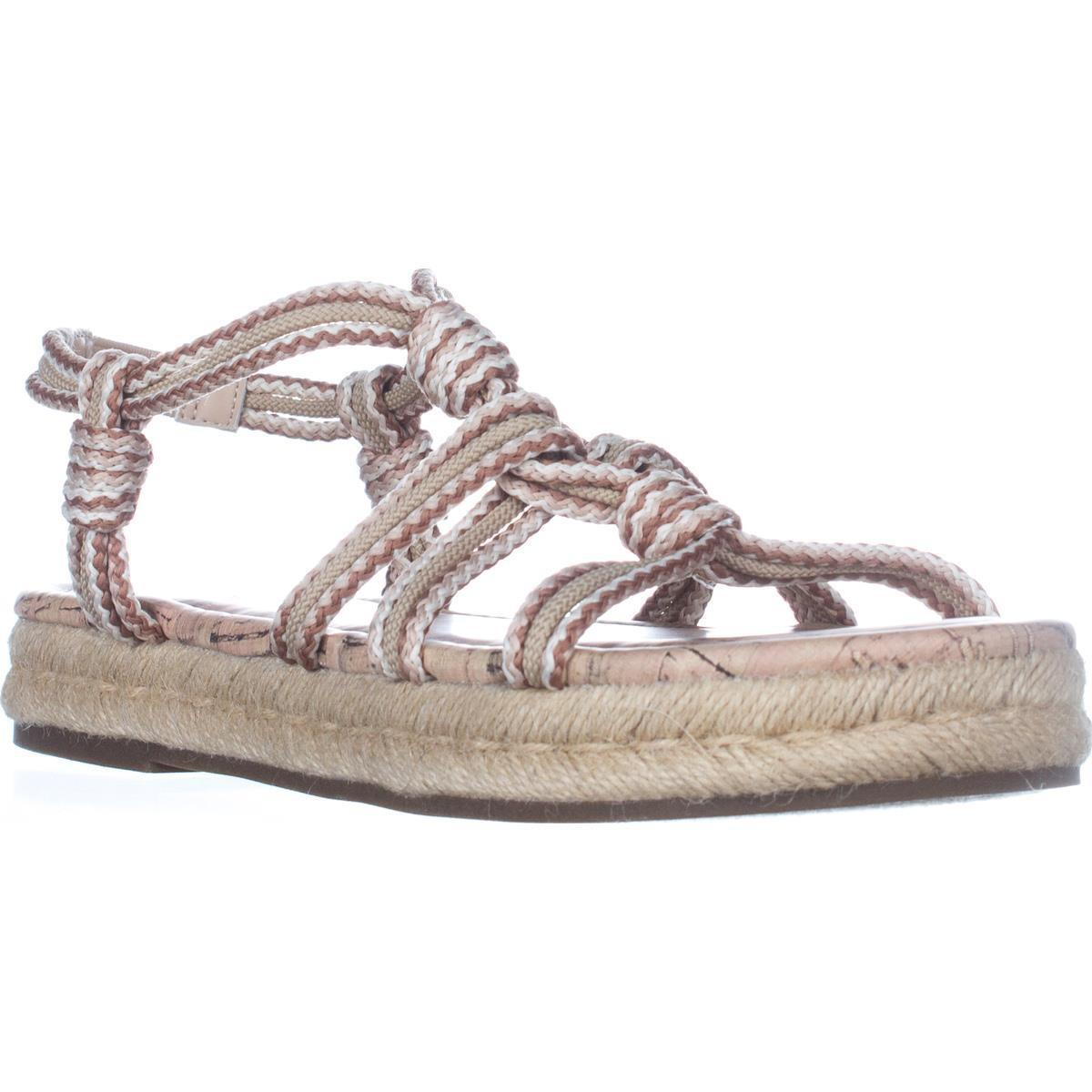 Sam Edelman Circus By Athena Flat Sandals In Natural Lyst