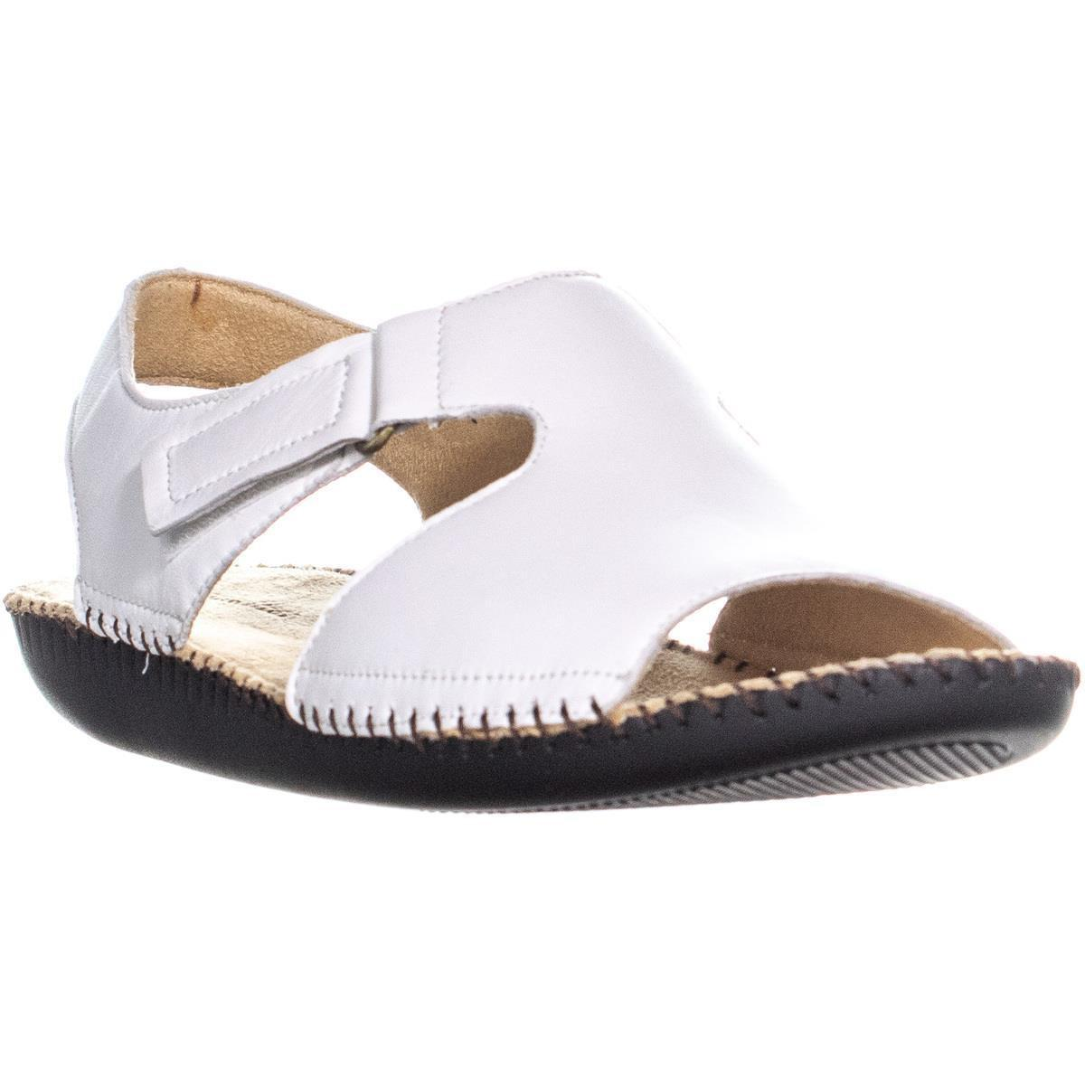 84ed0185823a Naturalizer Scout Wedge Heel Sandals in White - Lyst
