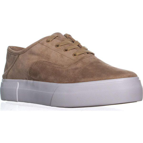 4d6b737062a Lyst - Vince Copley Platform Sneakers in Brown
