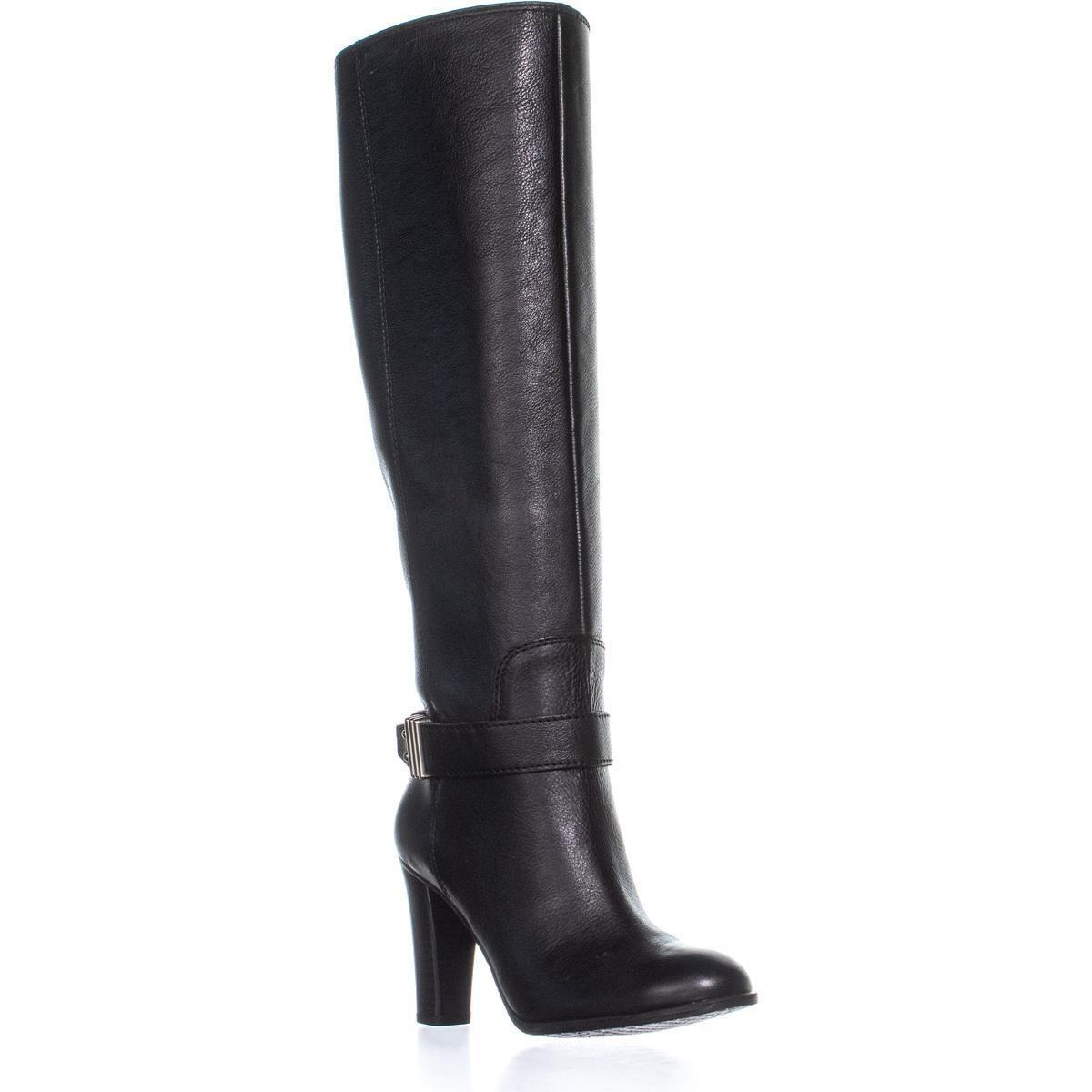In stock enzo angiolini sumilo riding ankle belt knee high boots in black  jpg 1200x1200 Enzo 508abc10a572