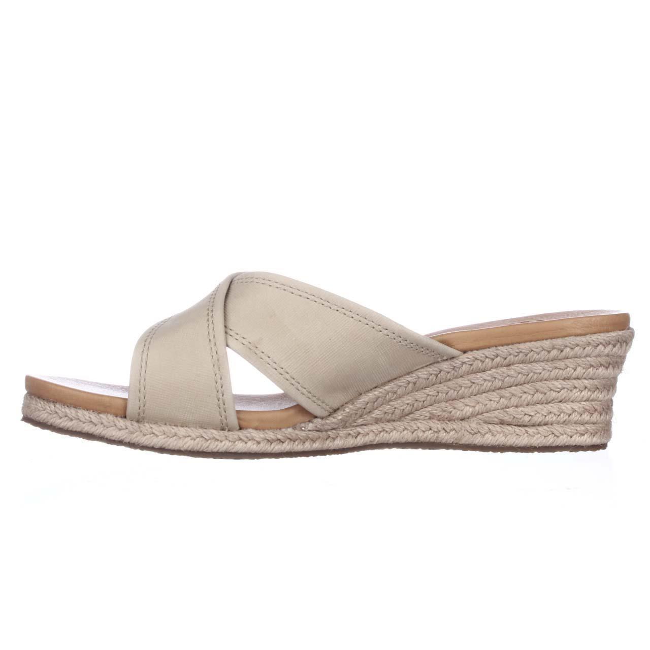 Lyst Ugg Gwyn Espadreill Slide Sandals In Gray