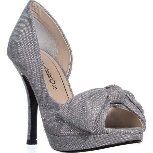 8e397dfe7c9 Lyst - Caparros Lucky Platform Mesh Dress Sandals in Metallic