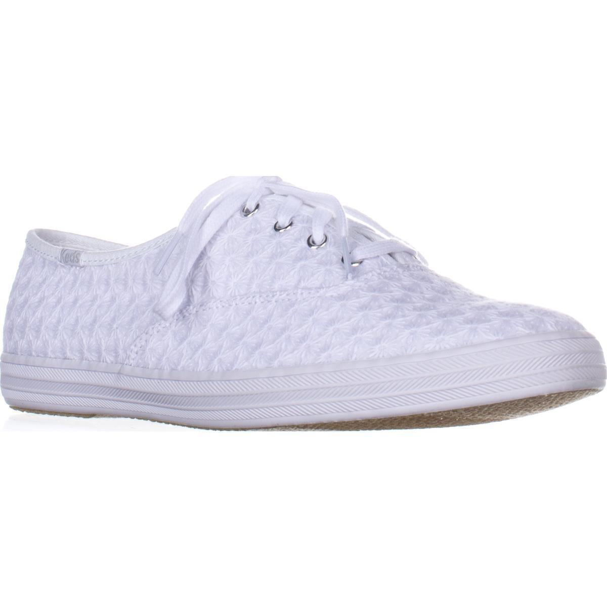 05fe69af539 Keds Champion Mini Daisy Fashion Sneakers in White - Lyst