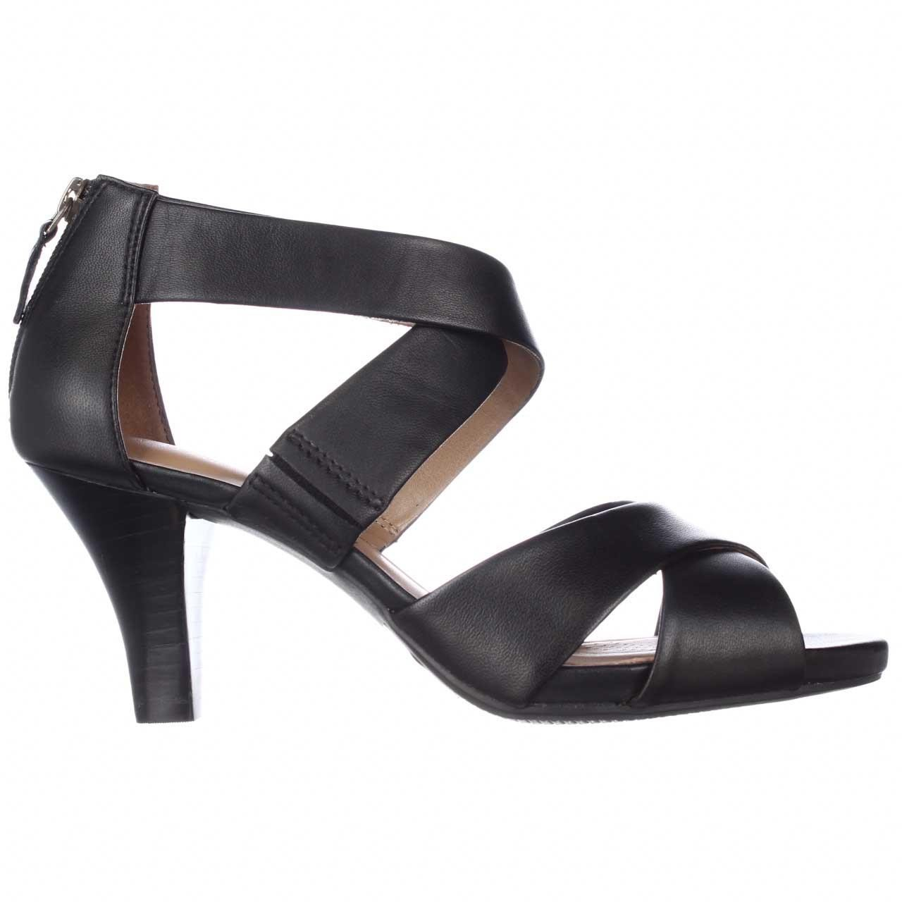 Clarks Florine Sashae Strappy Dress Sandals In Natural Lyst