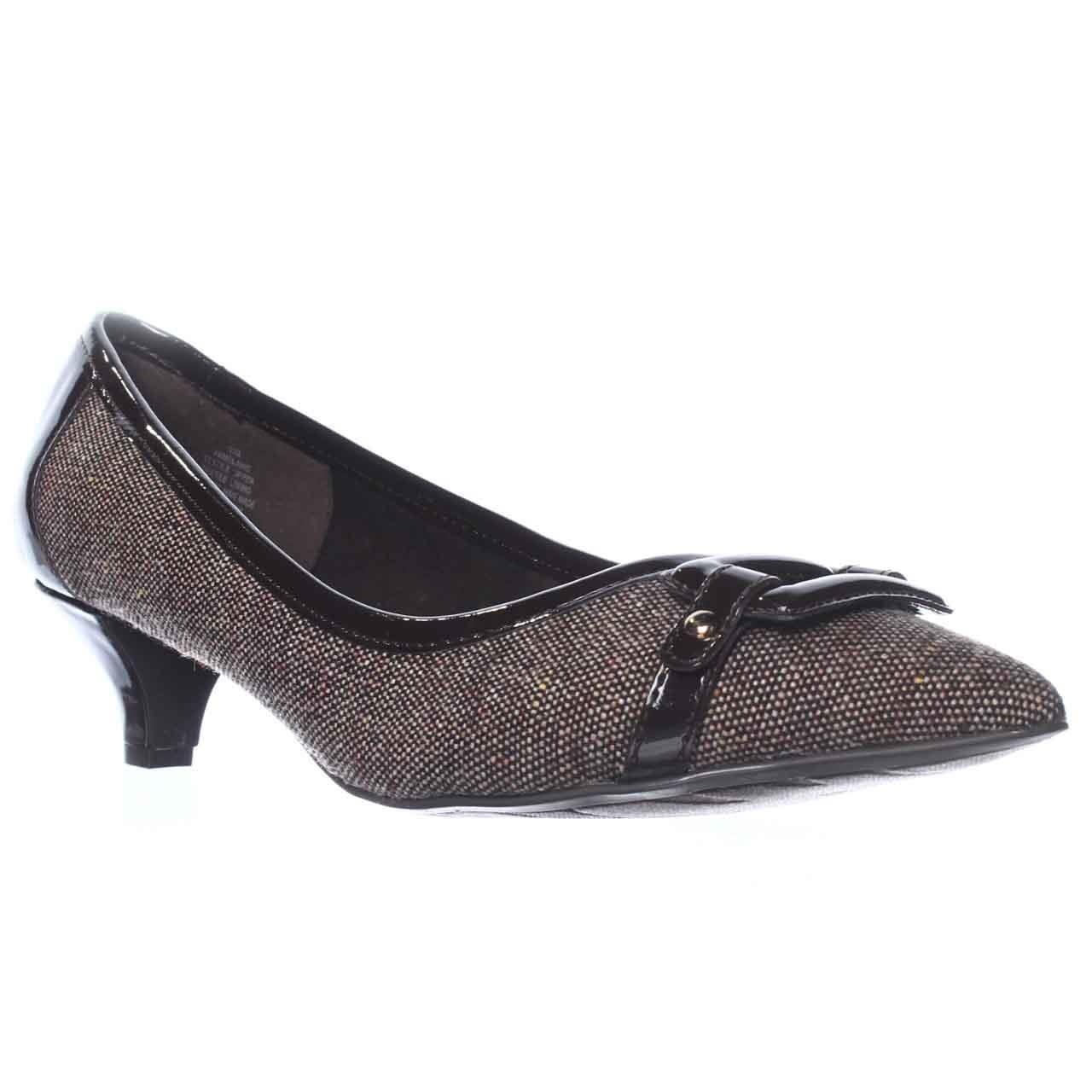 eb6170f733b Lyst - Anne Klein Melanie Kitten Heels in Brown