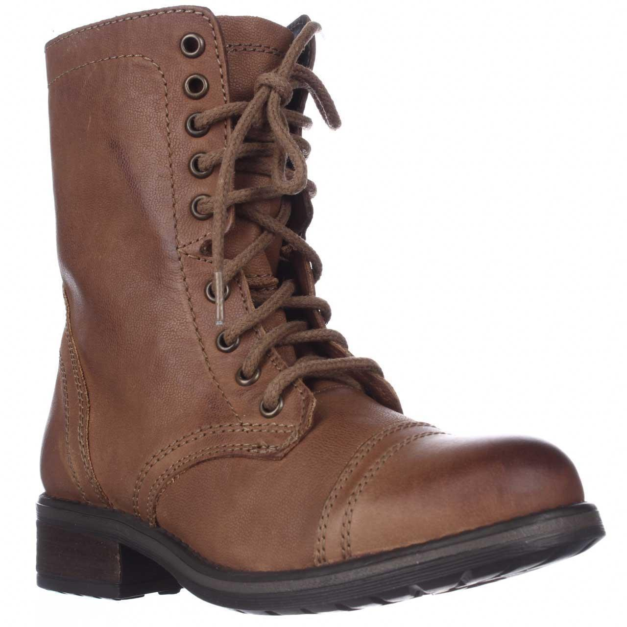 Steve madden Tropa2 Combat Boots in Brown for Men | Lyst Steve Madden Combat Boots Men