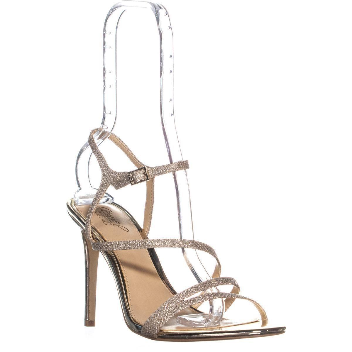 cba5839d776c Lyst - Badgley Mischka Jewel Maddison Heeled Sandals in Metallic