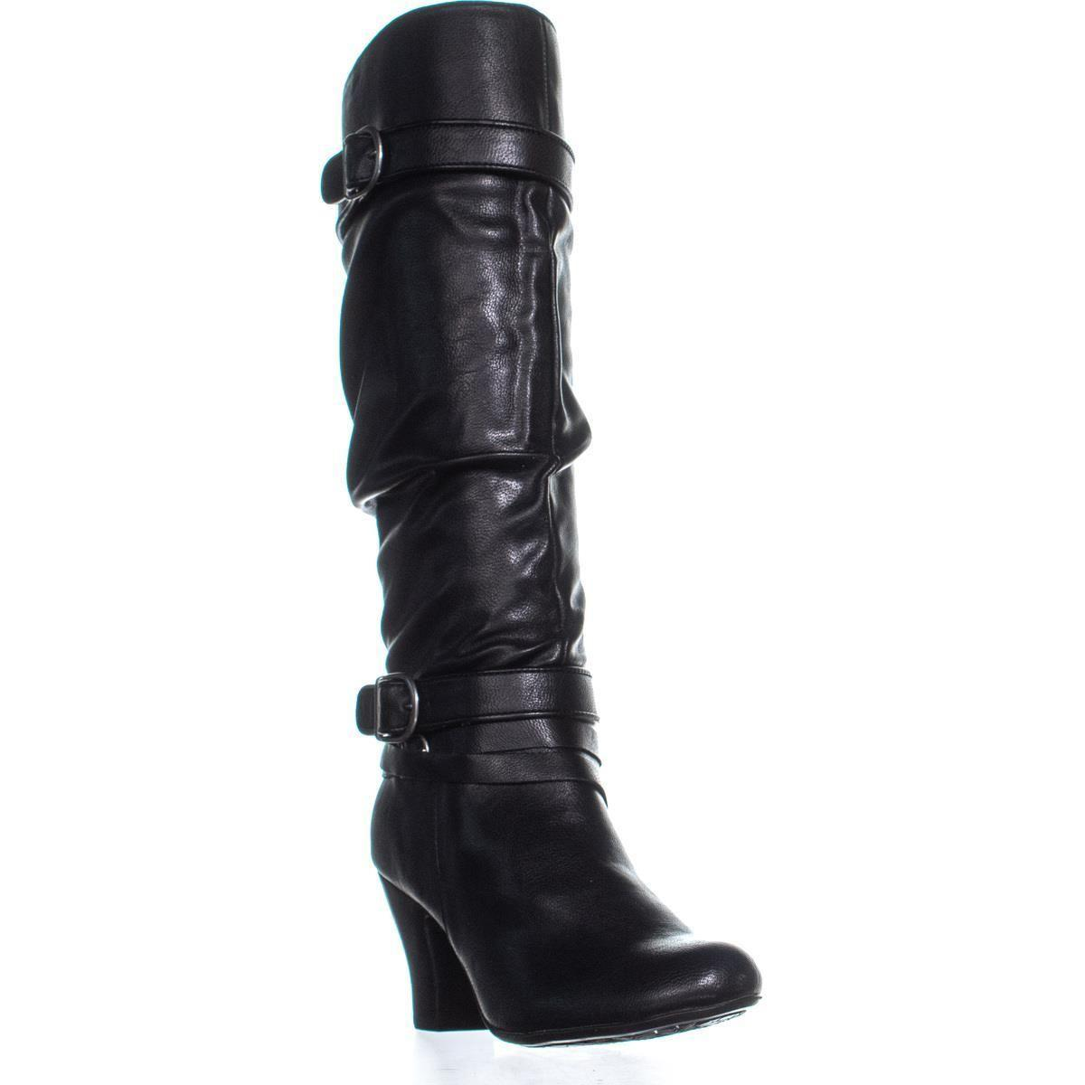 a23c9dd805e5 Lyst - Hush Puppies Lonna Zippered Knee-high Boots in Black - Save 13%