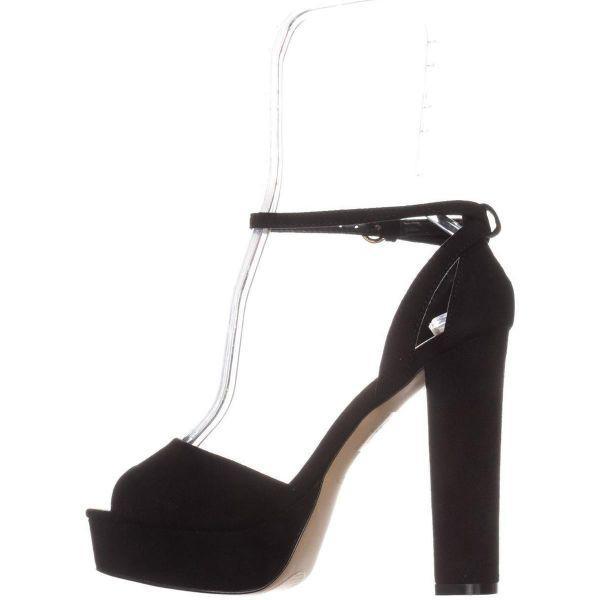 563892f9b53 ALDO - Black Olivarra Platform Ankle Strap Sandals - Lyst. View fullscreen
