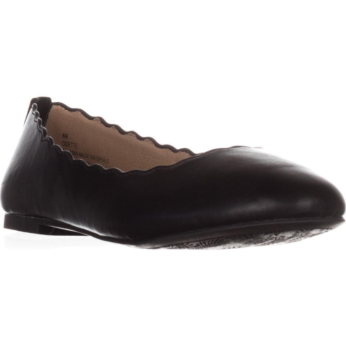 eac55556f7d6 Lyst - Esprit Odette Scalloped Edge Ballet Flats in Black - Save 12%