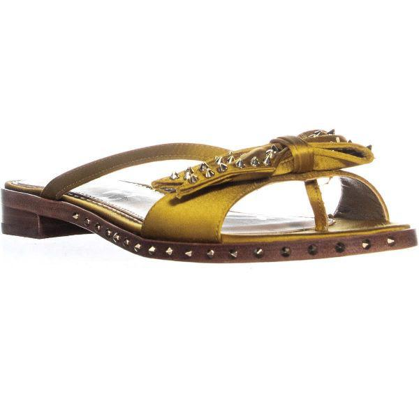 87103ca3d75b Lyst - Sam Edelman Dariel Slide Sandals in Metallic
