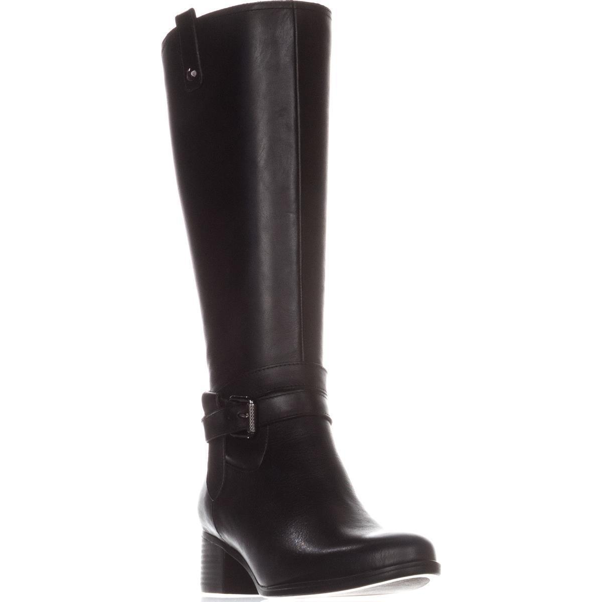 9e5c08617dc0 Lyst - Naturalizer Dev Riding Boots in Black