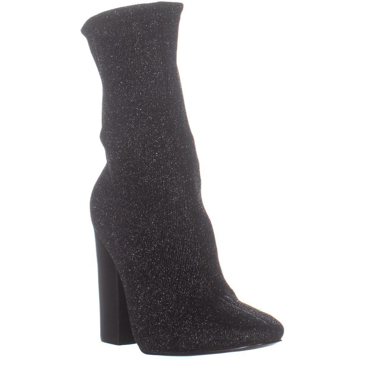 2a8b263ff Kendall + Kylie Hailey4 Sock Boots in Black - Lyst