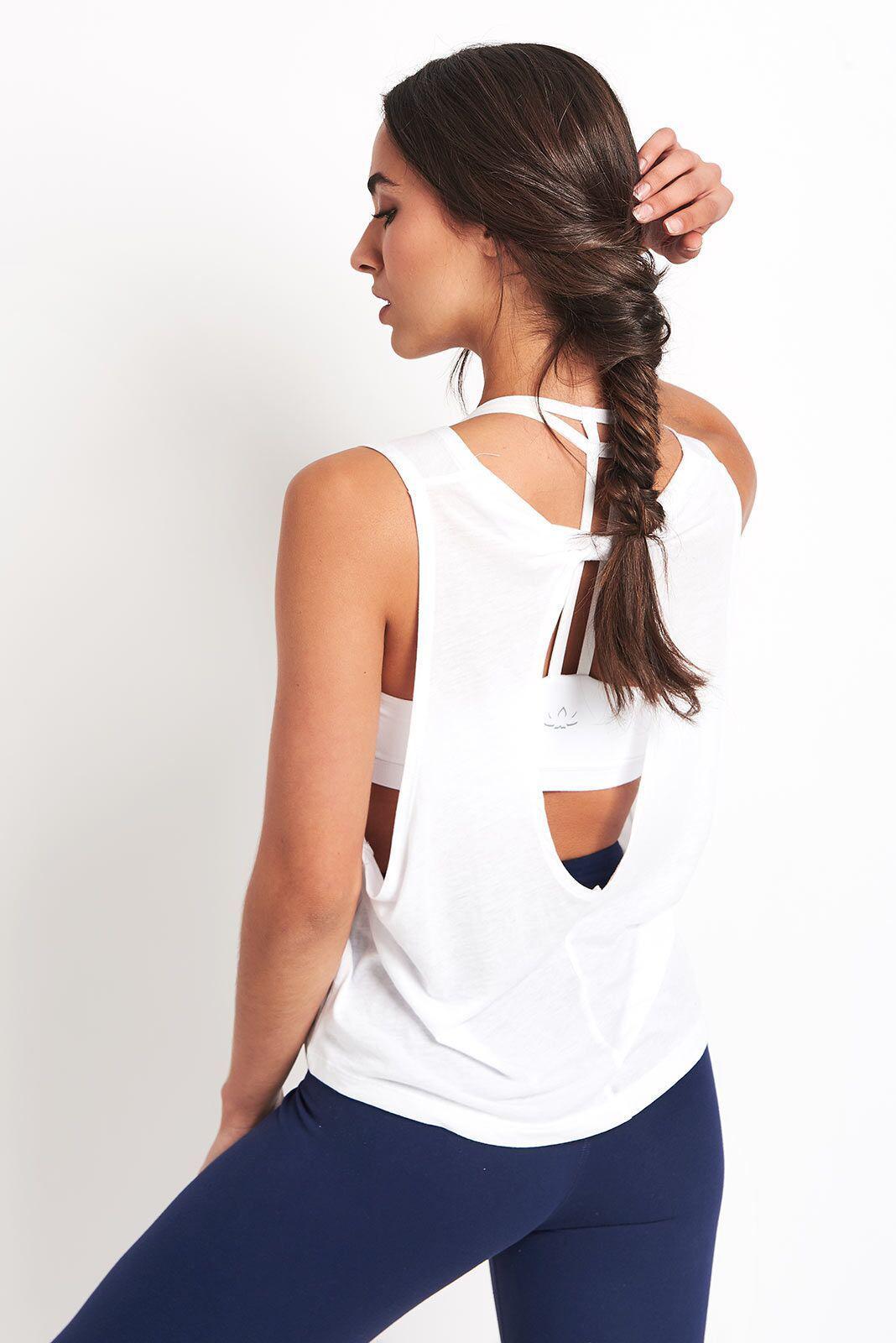 Beyond Yoga Cotton Sundaze Twisted Tank